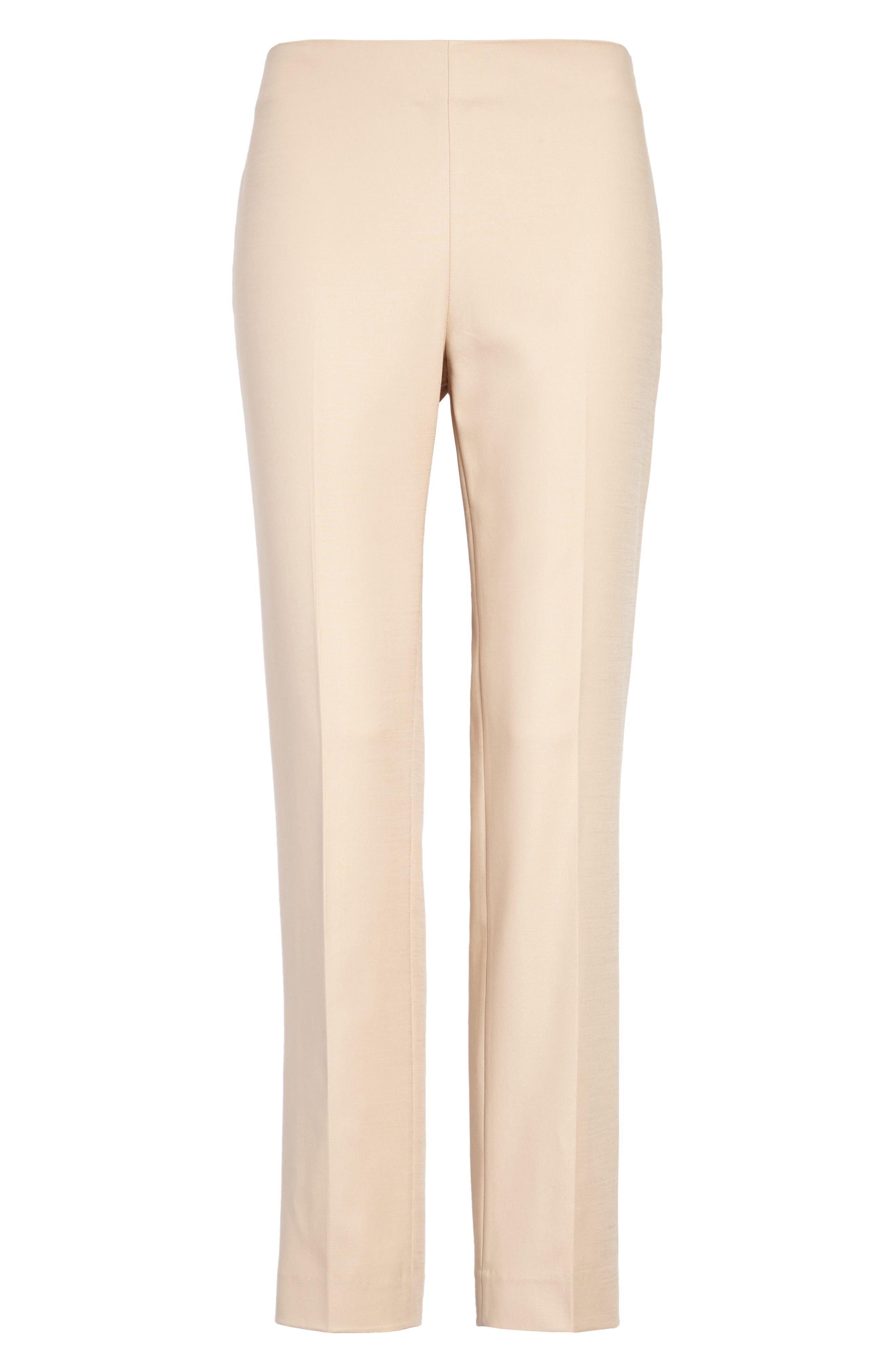 Side Zip Double Weave Pants,                             Alternate thumbnail 20, color,