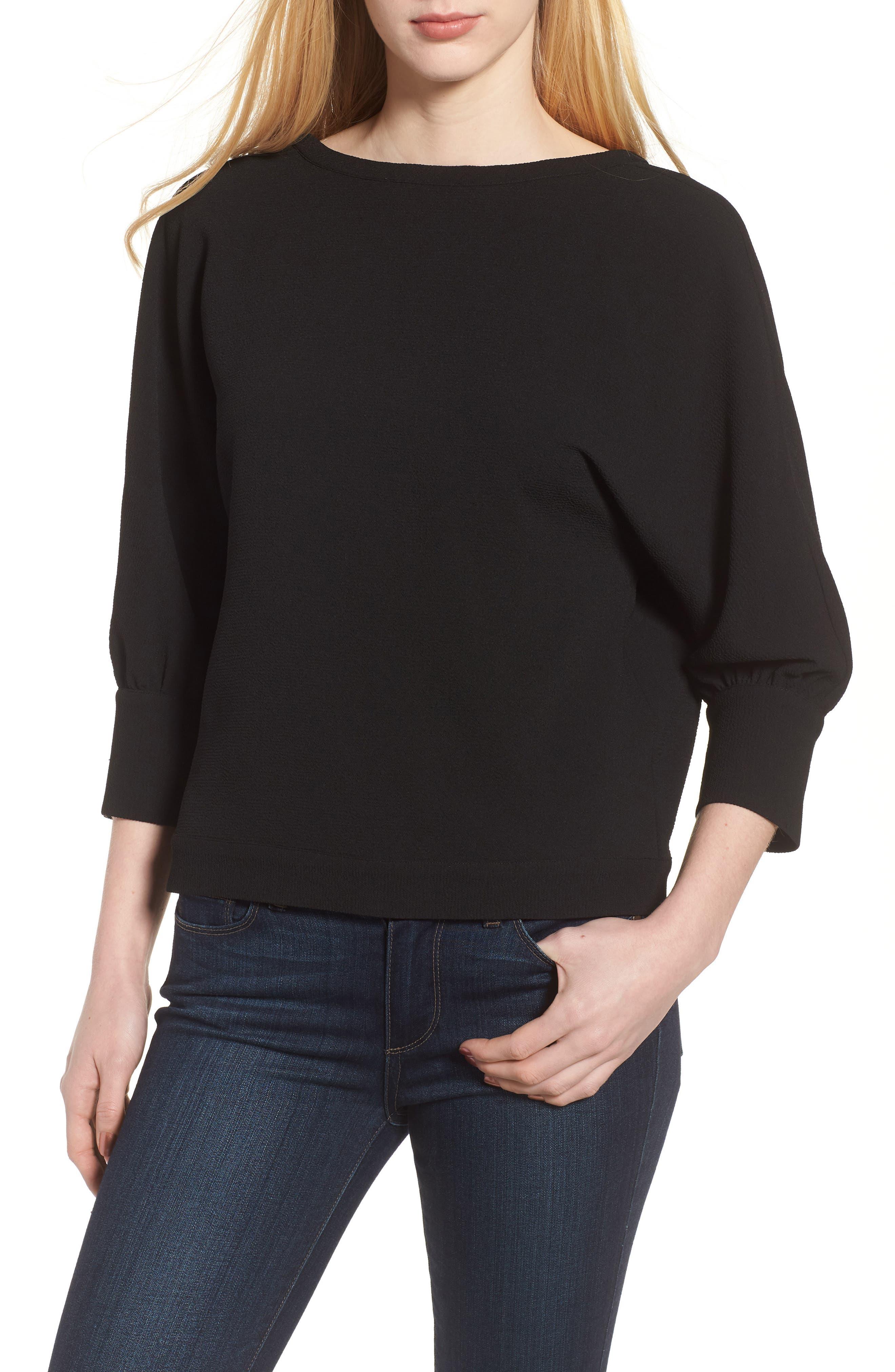 Dolman Sleeve Top,                         Main,                         color,