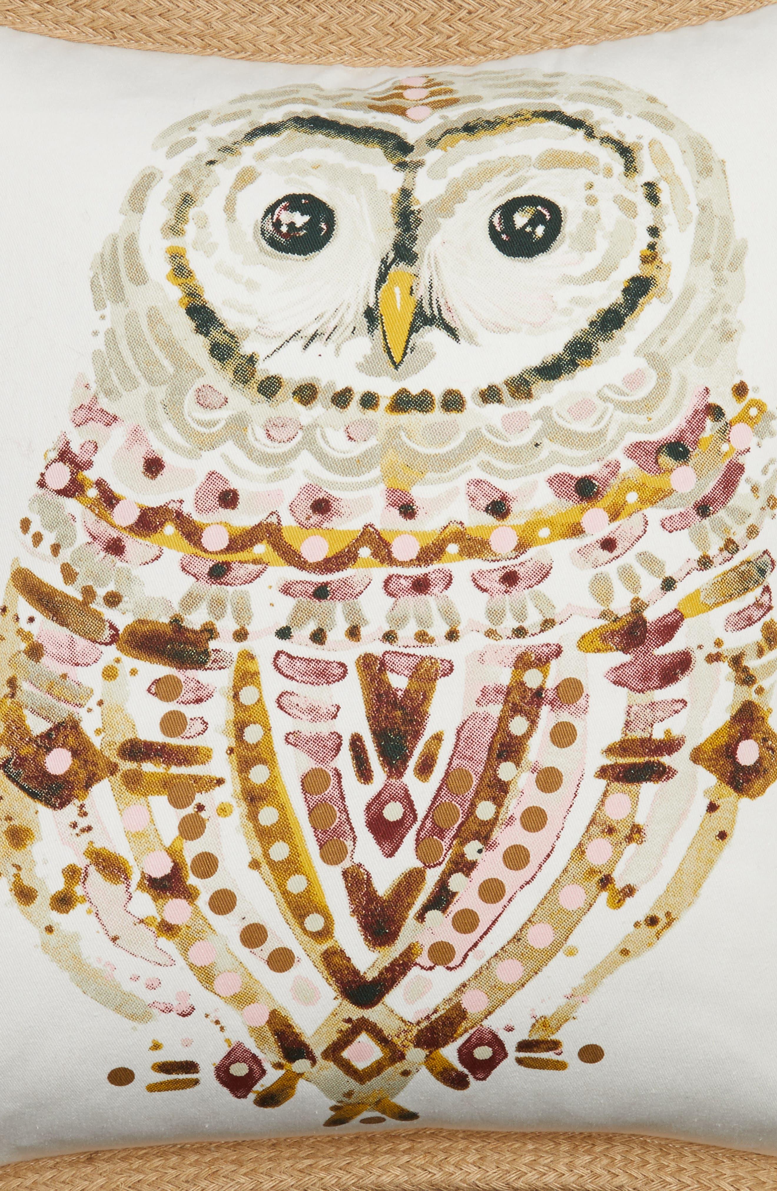 Owl Pillow,                             Alternate thumbnail 3, color,                             100