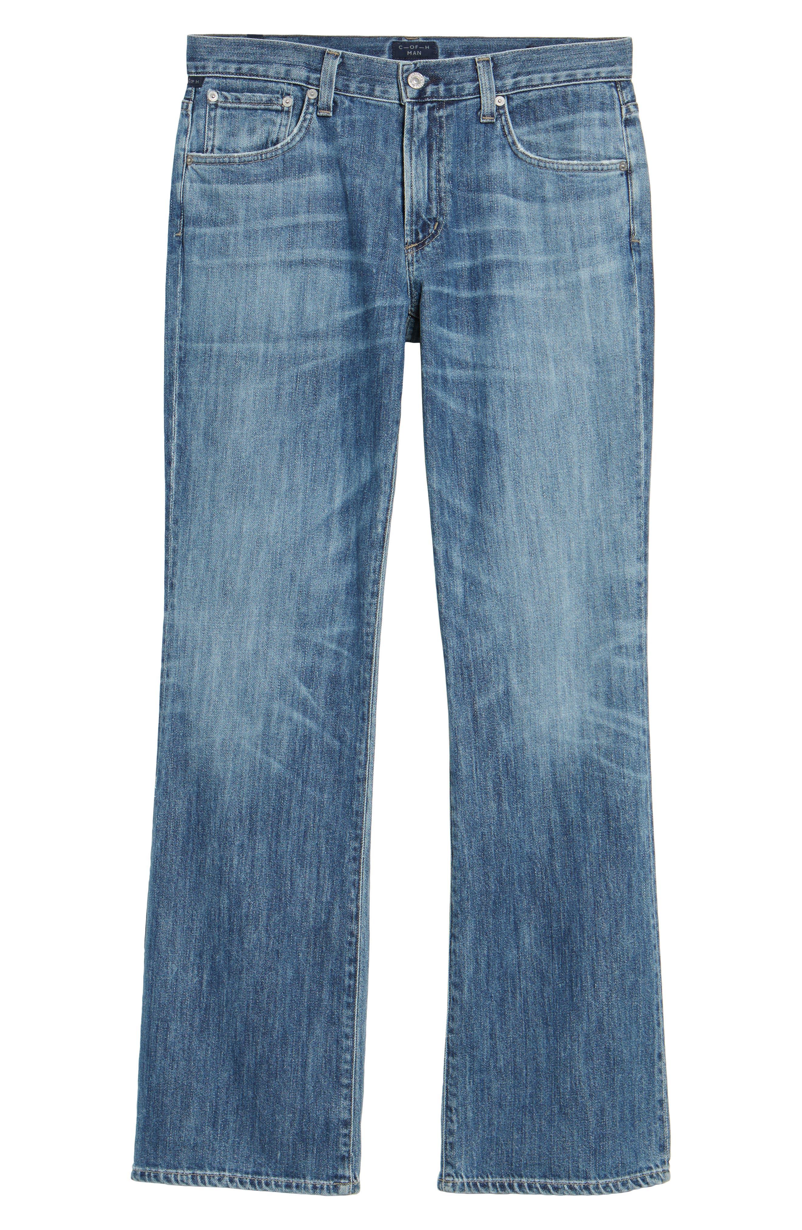 Bootcut Jeans,                             Alternate thumbnail 6, color,