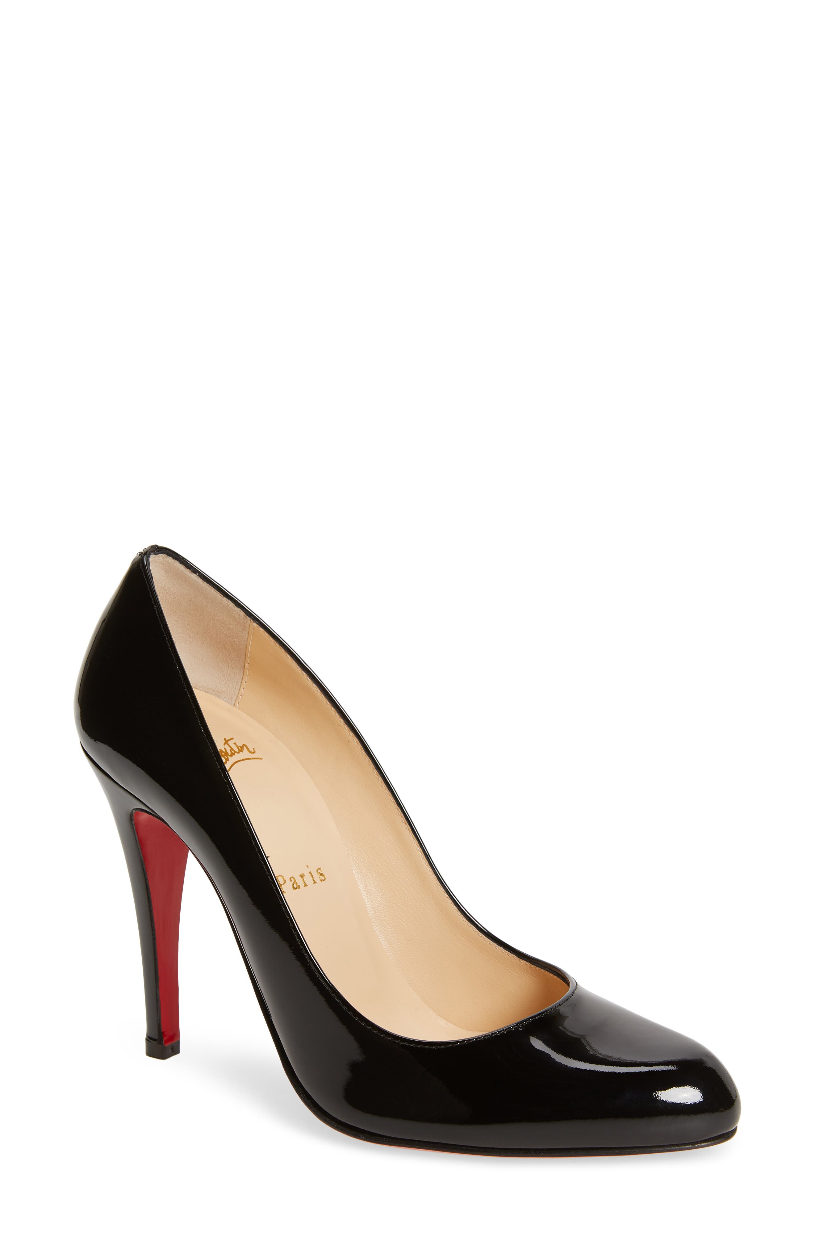 Décolleté 868 Pump,                         Main,                         color, BLACK