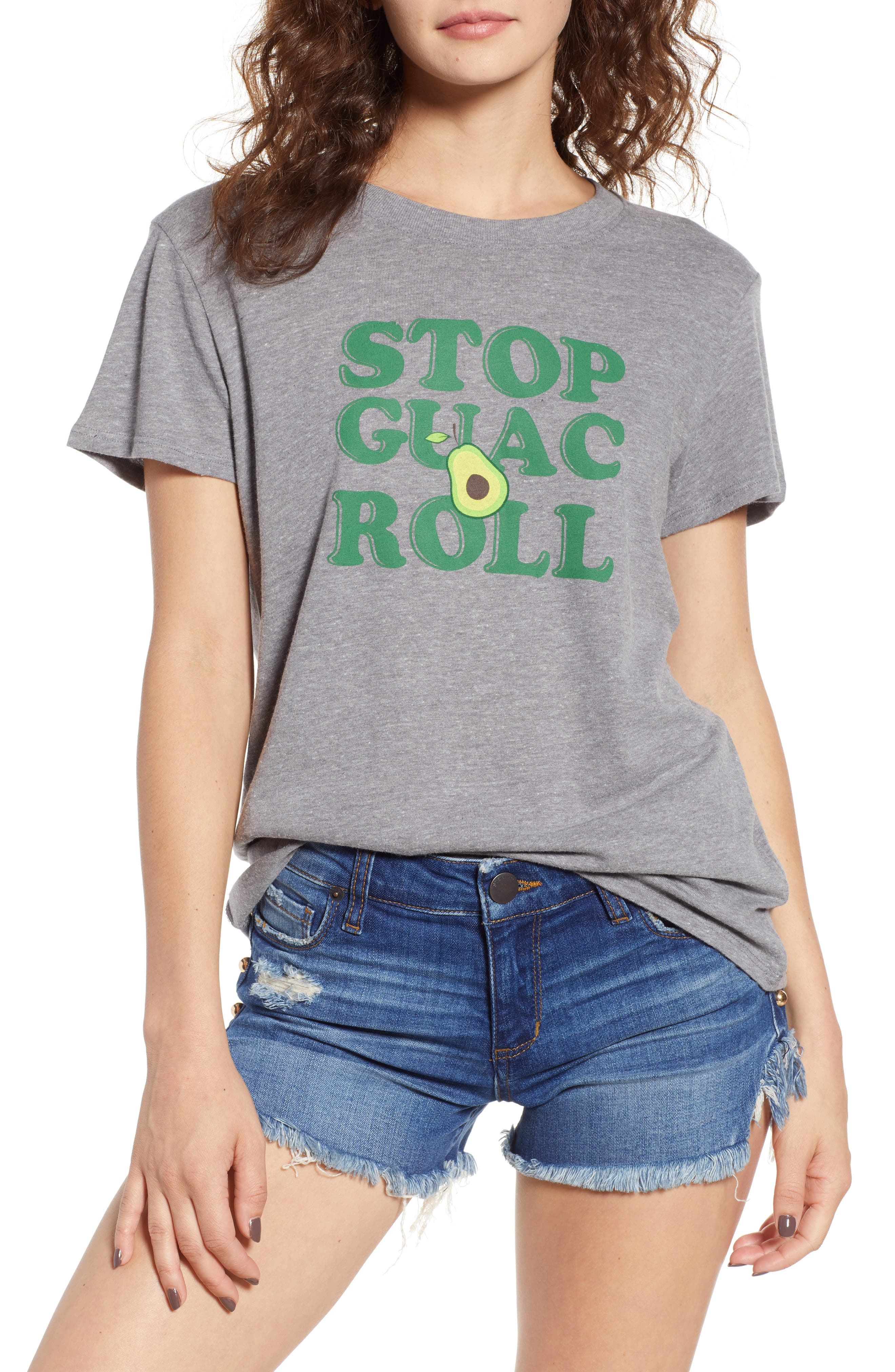 Stop, Guac & Roll Slouched Tee,                         Main,                         color, 050