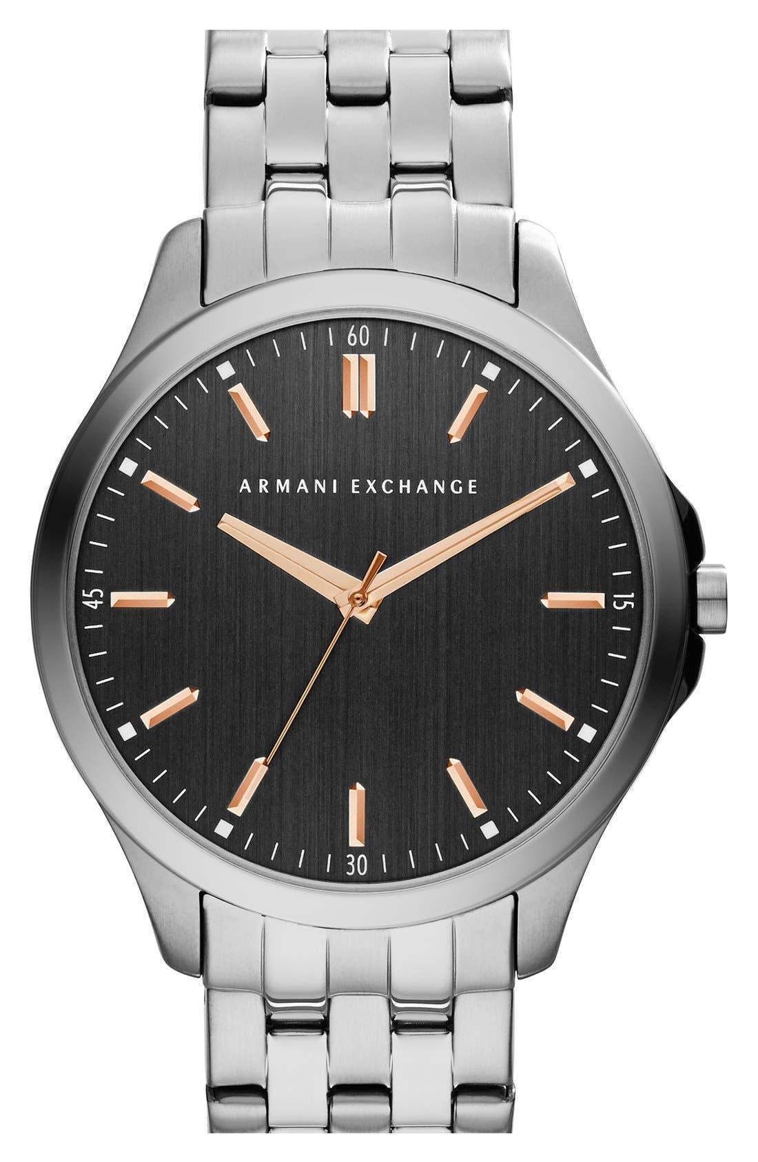 Round Bracelet Watch, 45mm,                             Main thumbnail 2, color,