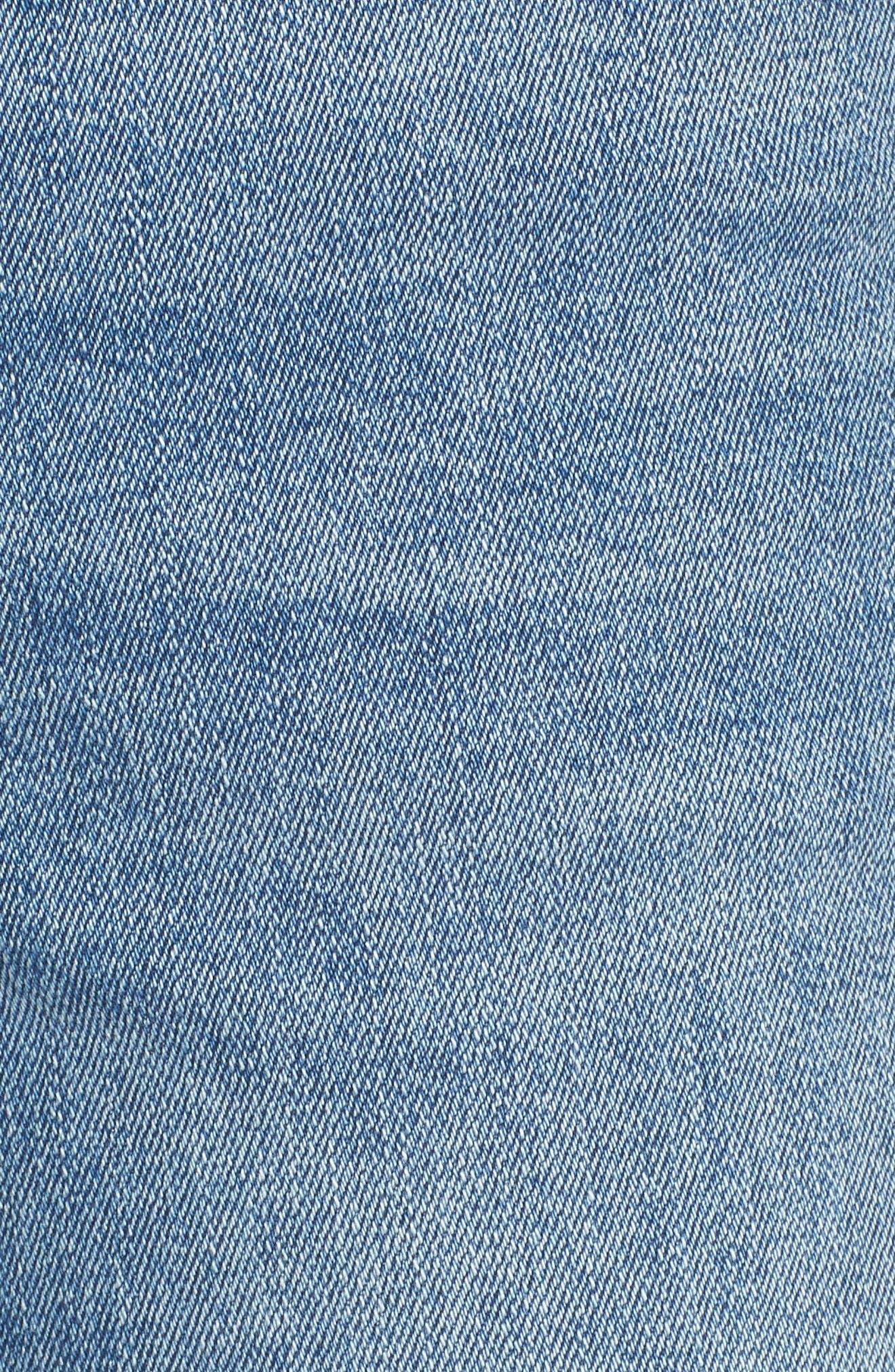 Mara Instasculpt Ankle Straight Leg Jeans,                             Alternate thumbnail 6, color,                             EVERETT