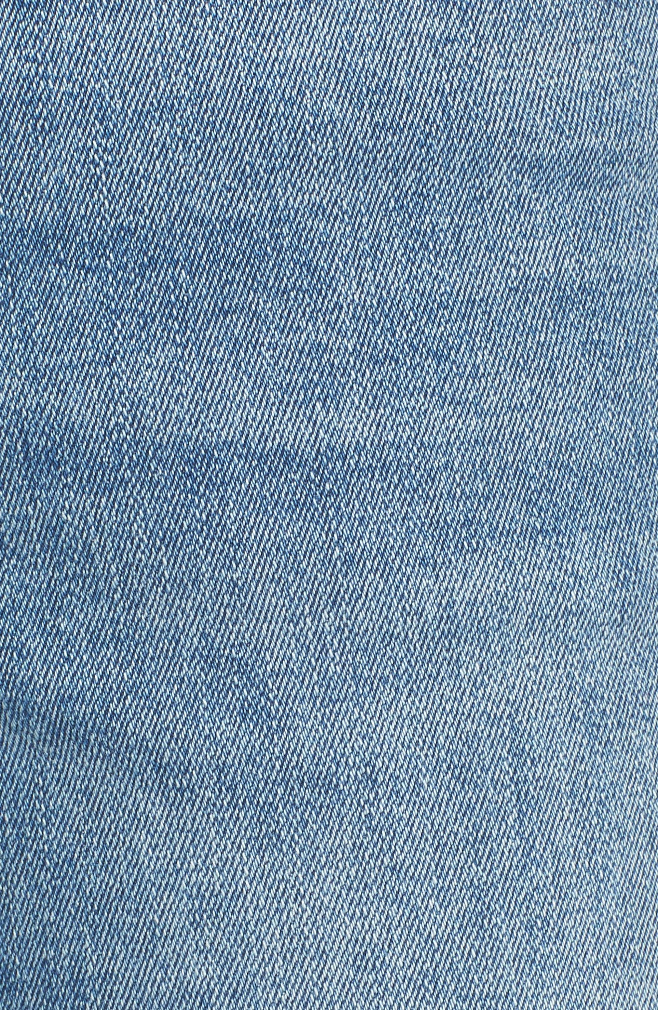 Mara Instasculpt Ankle Straight Leg Jeans,                             Alternate thumbnail 6, color,                             425