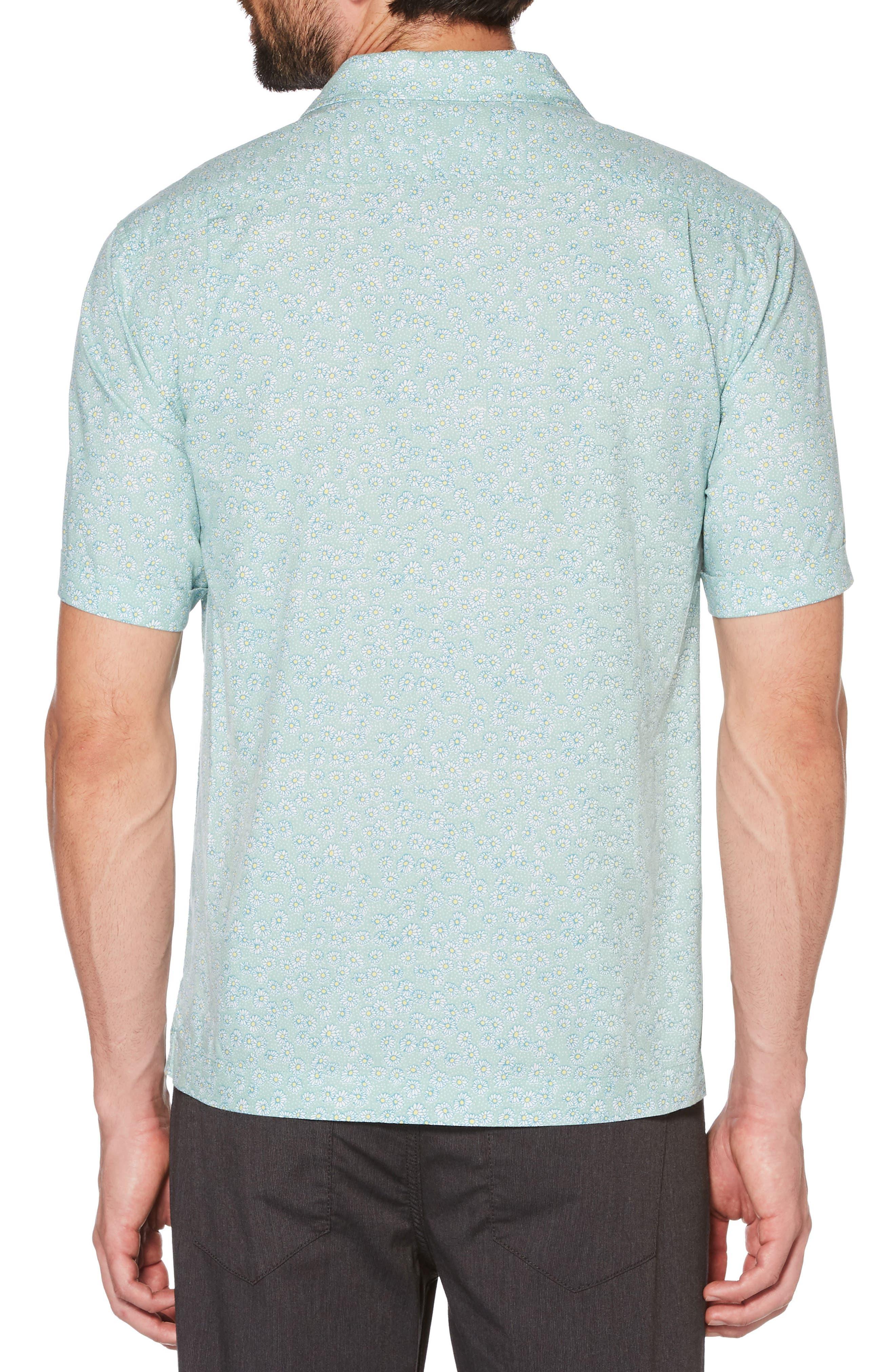 Daisy Print Woven Shirt,                             Alternate thumbnail 2, color,