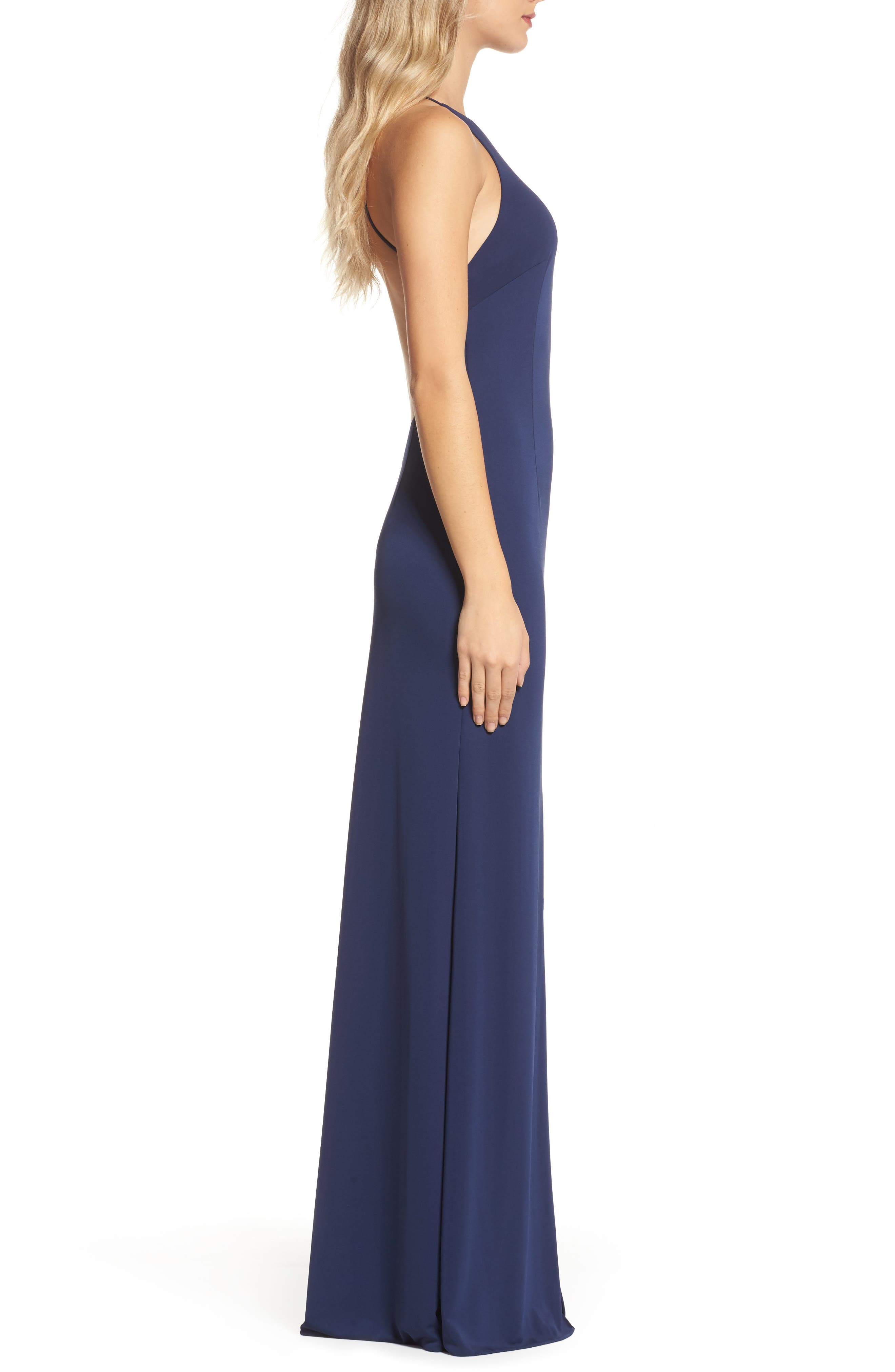 Victoria Sleeveless Gown,                             Alternate thumbnail 3, color,                             411