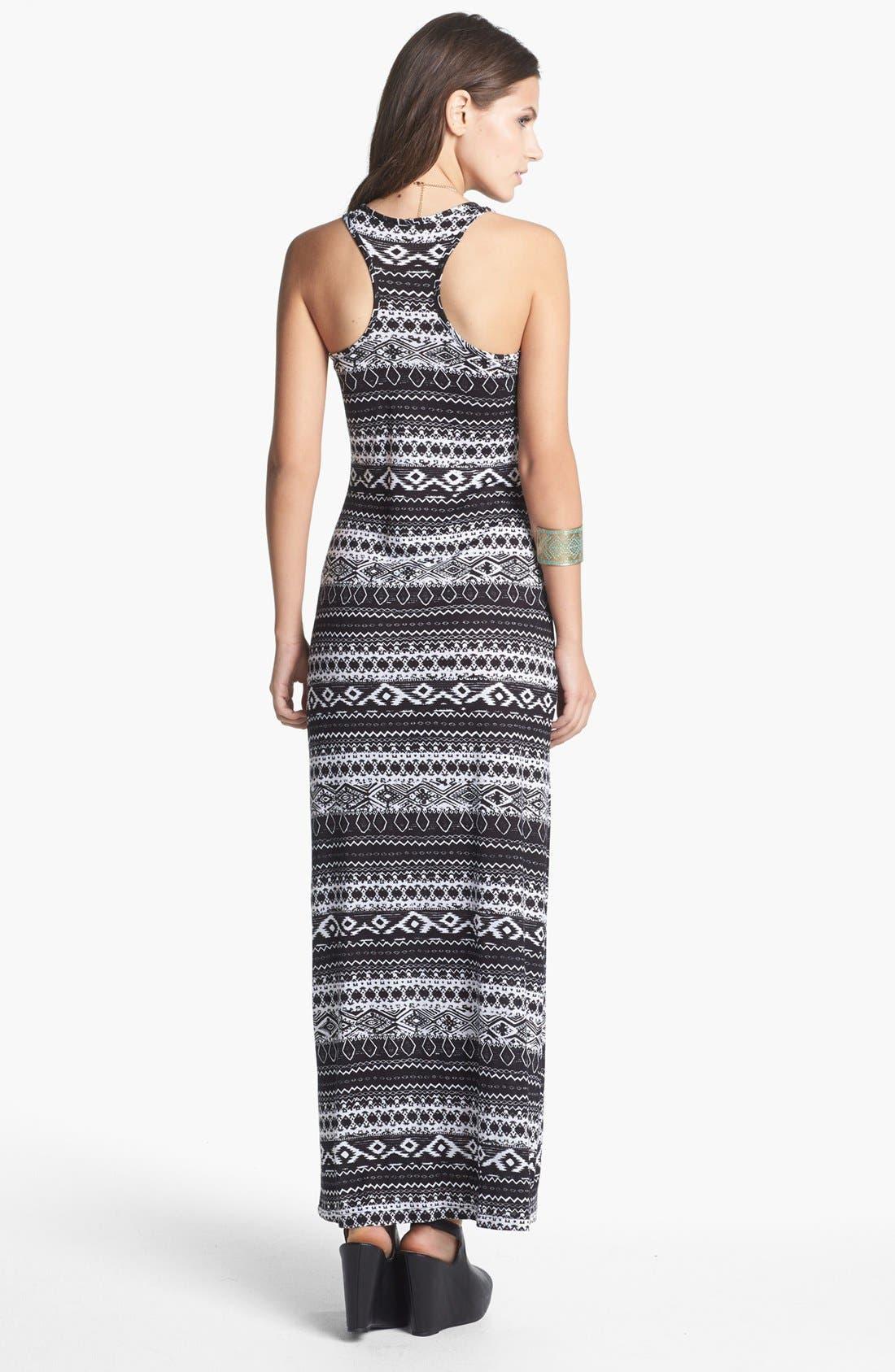 MINTY,                             Racerback Maxi Dress,                             Alternate thumbnail 4, color,                             001