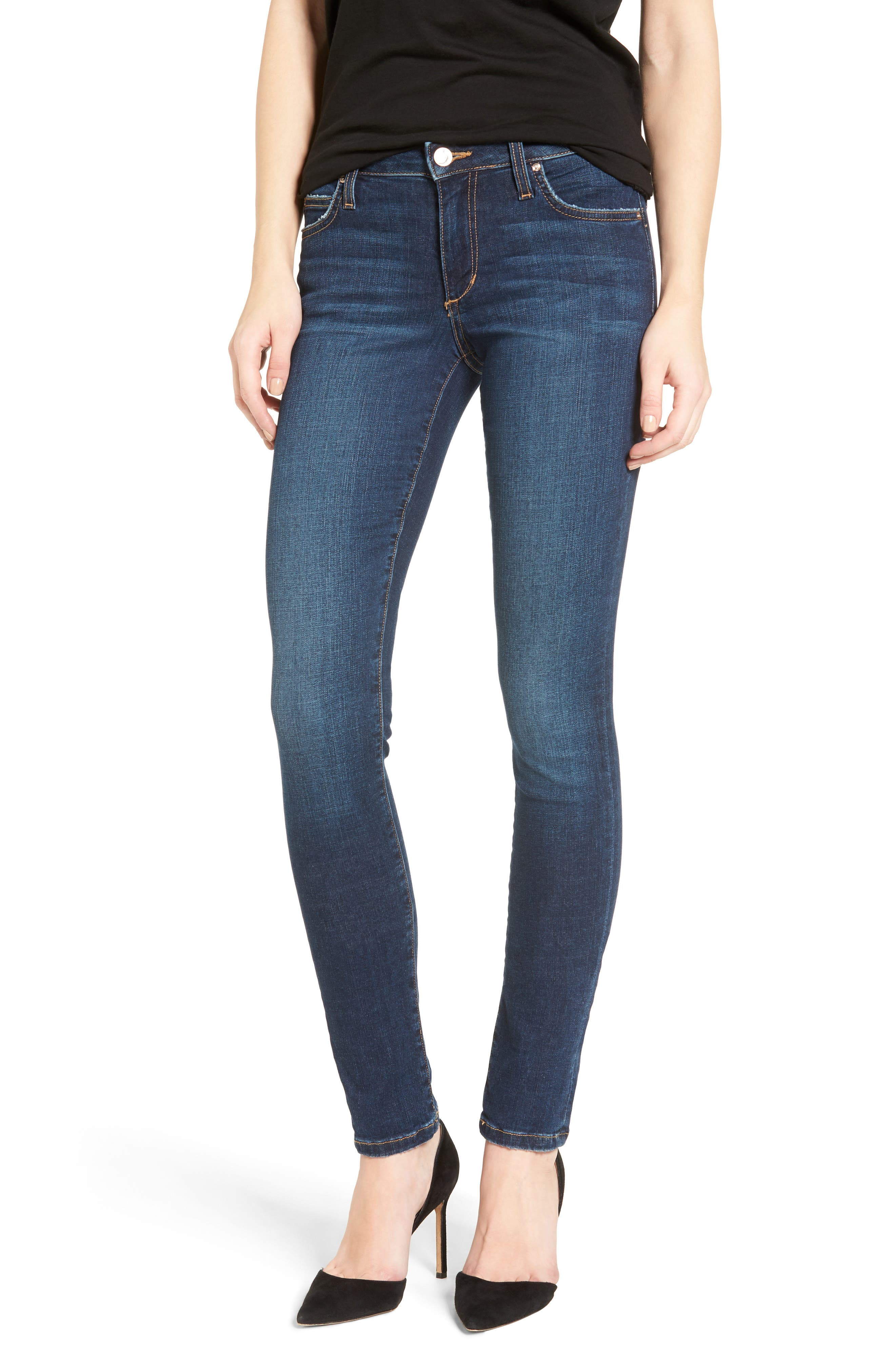 Flawless - Honey Curvy Skinny Jeans,                         Main,                         color, TANIA