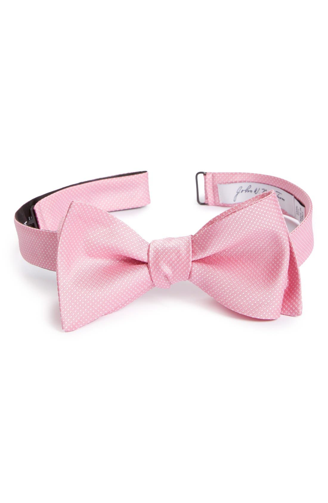 Dot Silk Bow Tie,                             Main thumbnail 9, color,