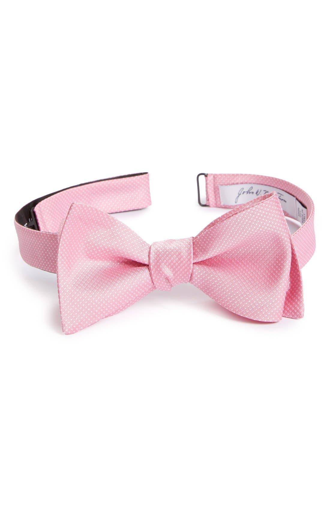 Dot Silk Bow Tie,                             Main thumbnail 9, color,