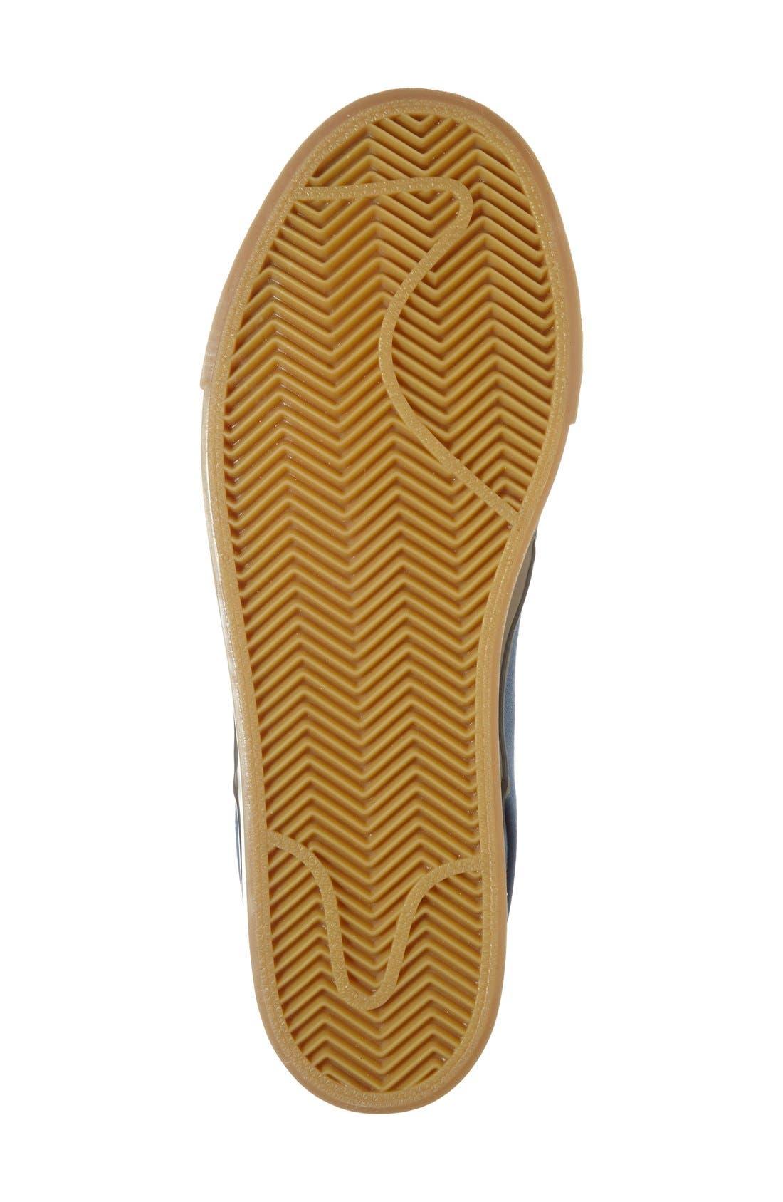 Zoom - Stefan Janoski SB Canvas Skate Shoe,                             Alternate thumbnail 160, color,