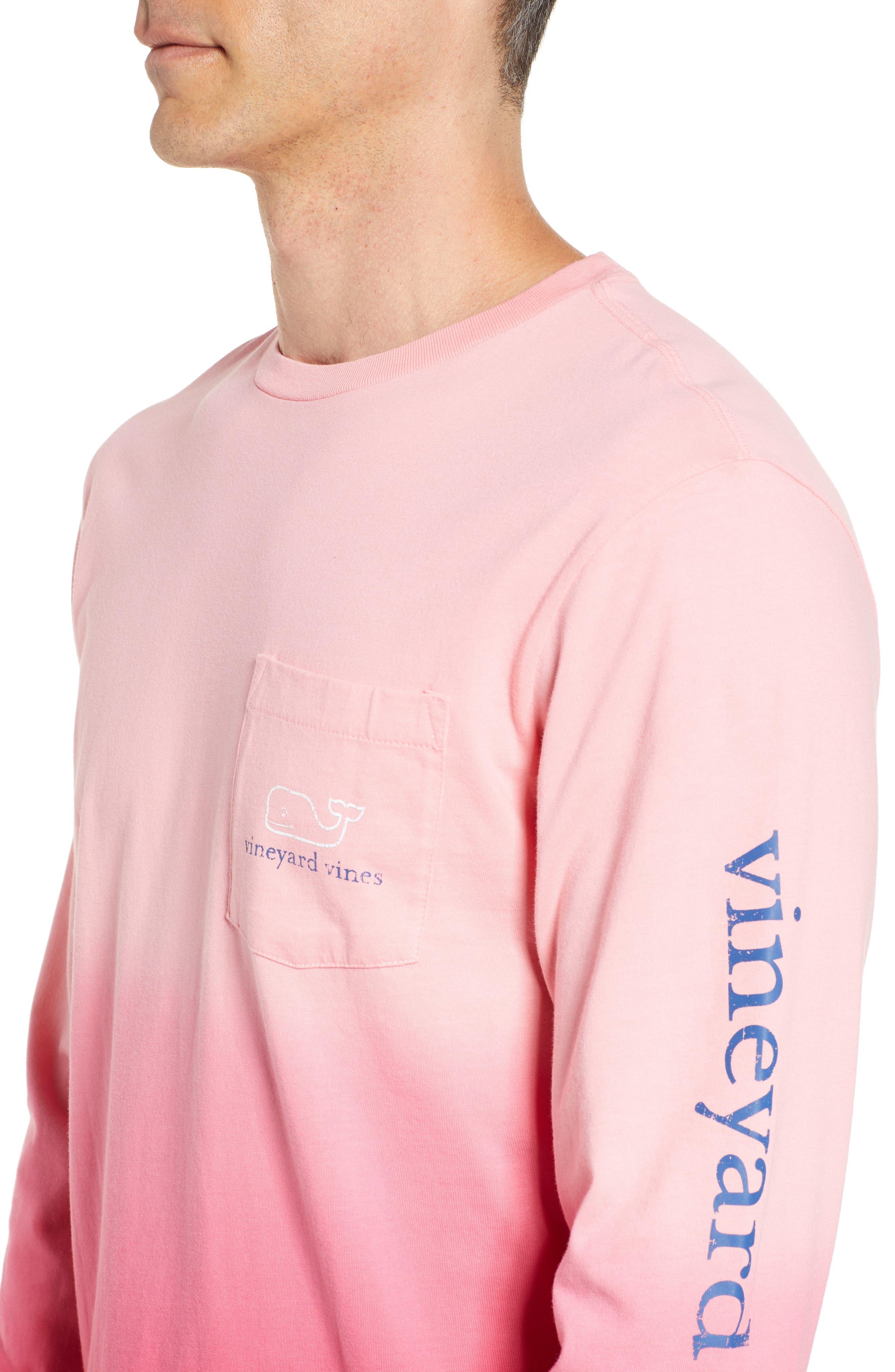 Dip Dye Two-Tone Whale Pocket T-Shirt,                             Alternate thumbnail 8, color,