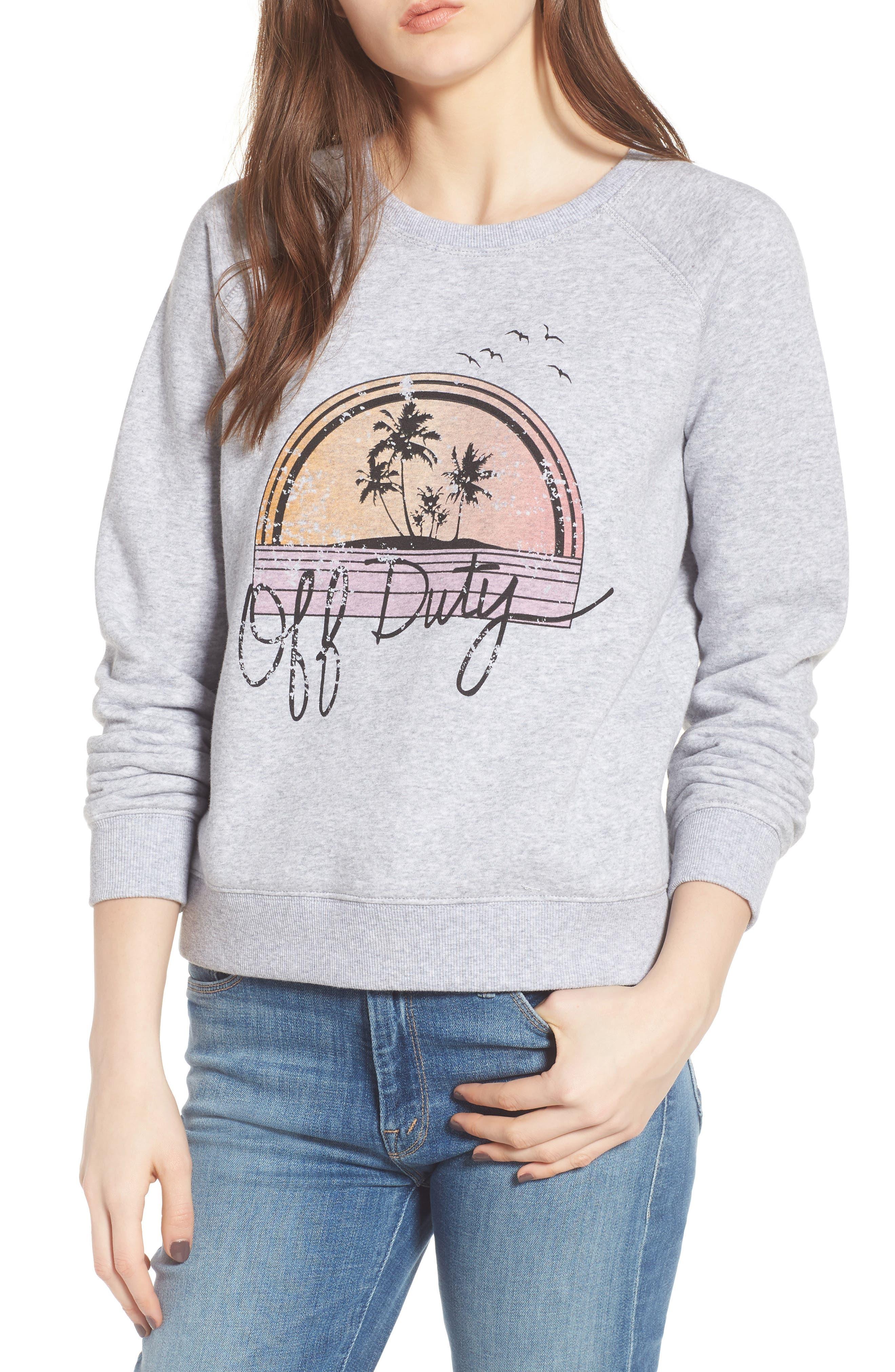 Off Duty Sweatshirt,                         Main,                         color, 026
