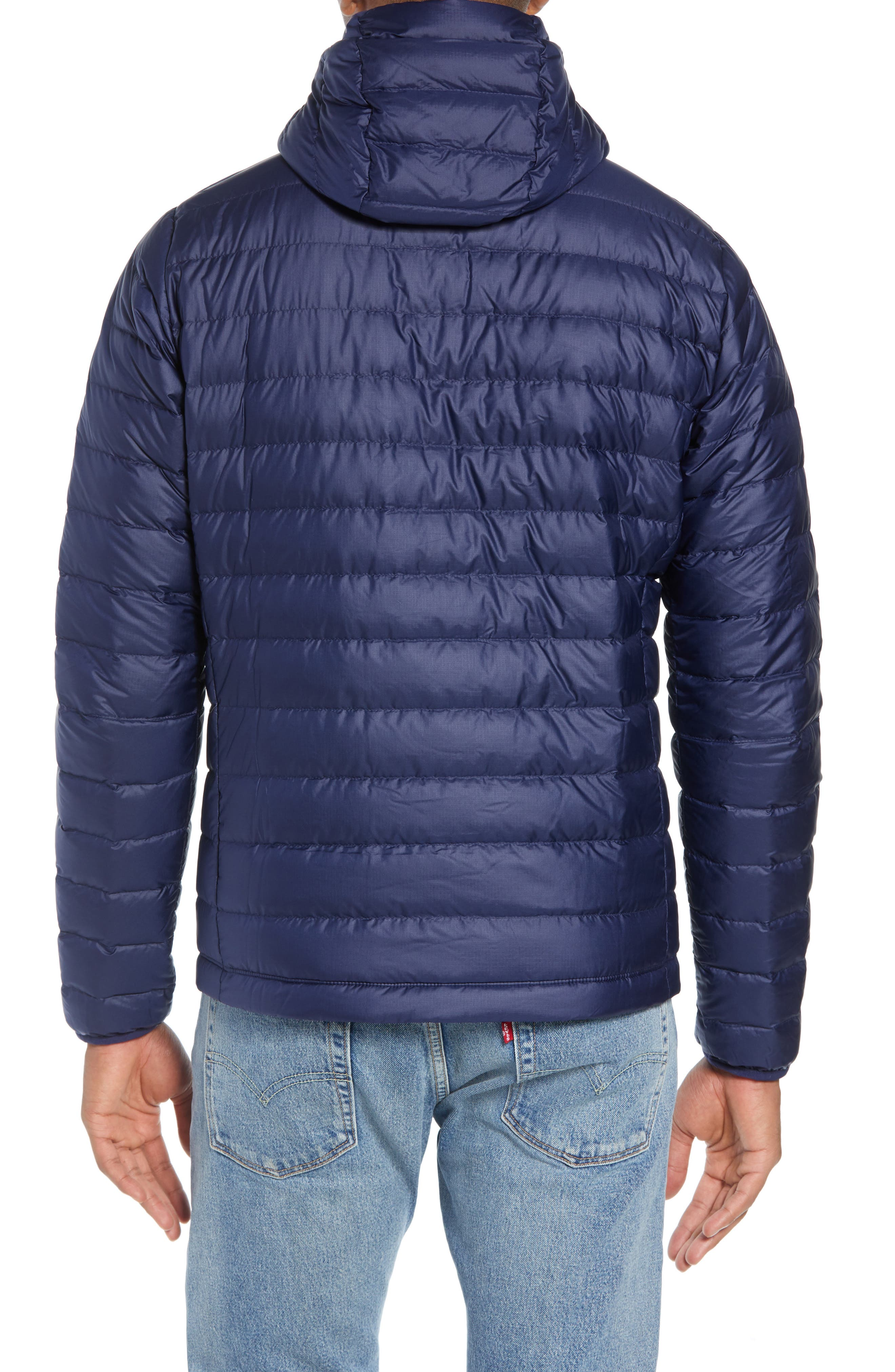 Packable Windproof & Water Resistant Goose Down Sweater Hooded Jacket,                             Alternate thumbnail 10, color,