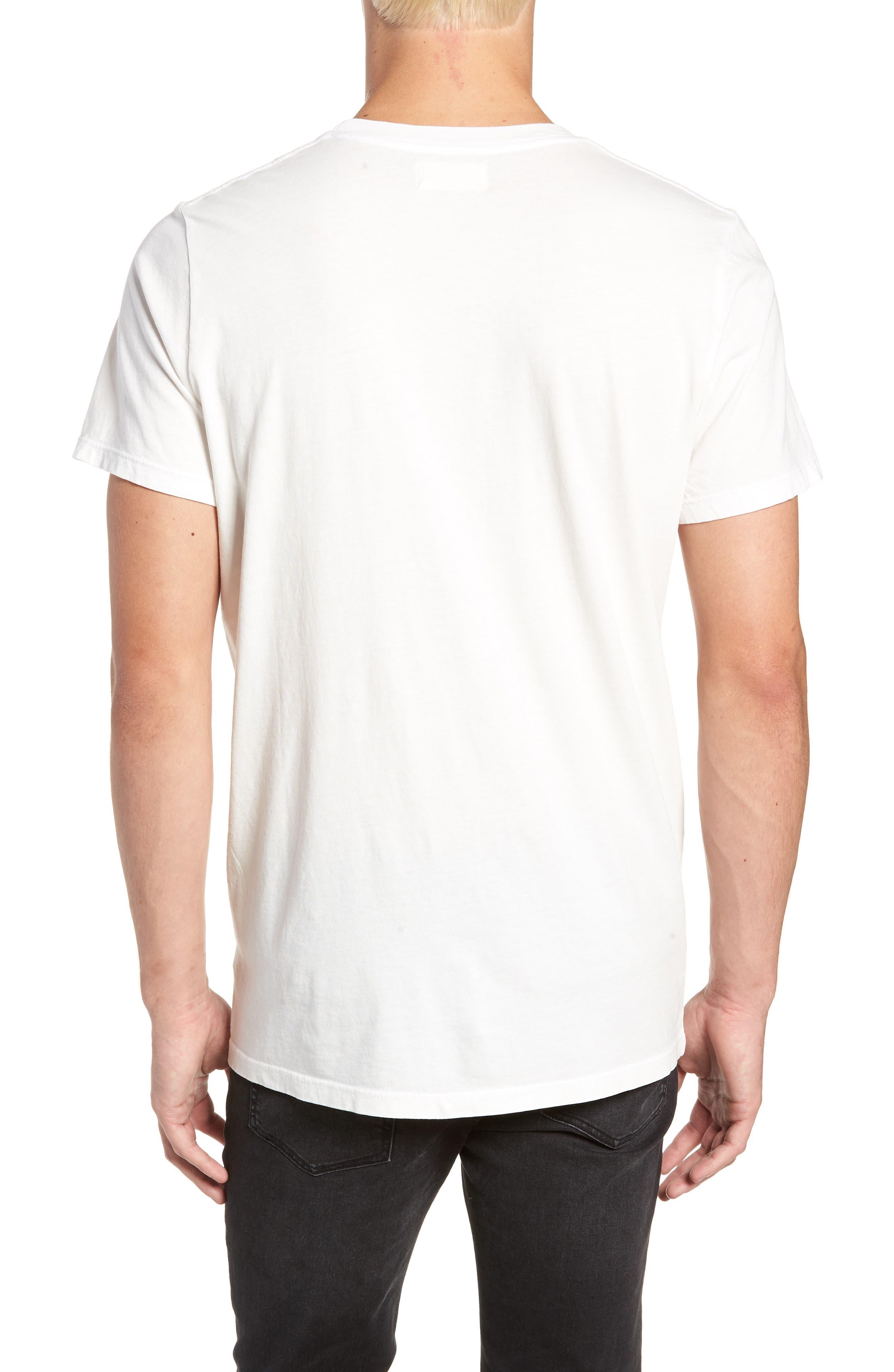 Off White Graphic T-Shirt,                             Alternate thumbnail 2, color,                             WHITE