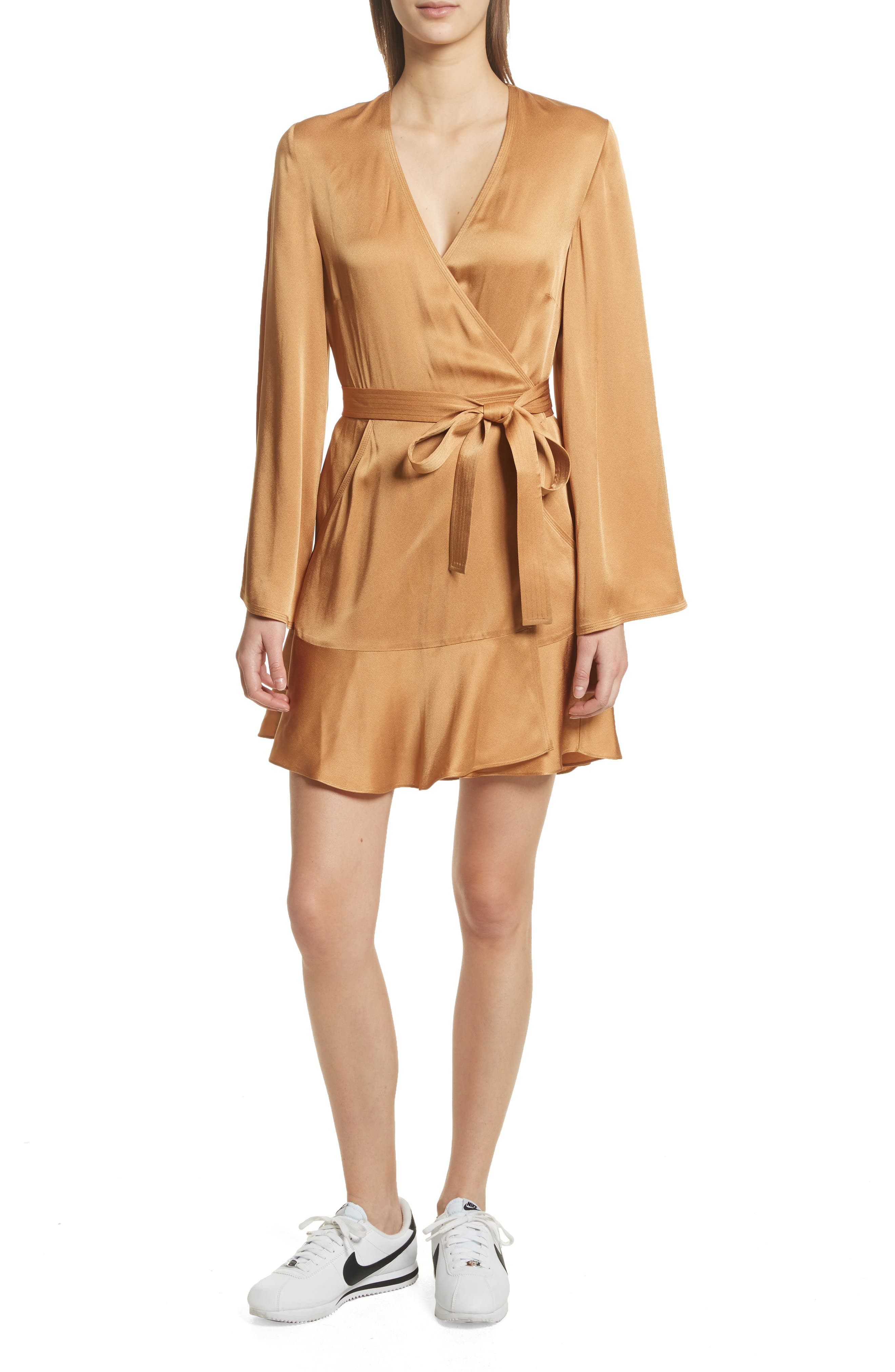 Whitney Wrap Dress,                             Main thumbnail 1, color,