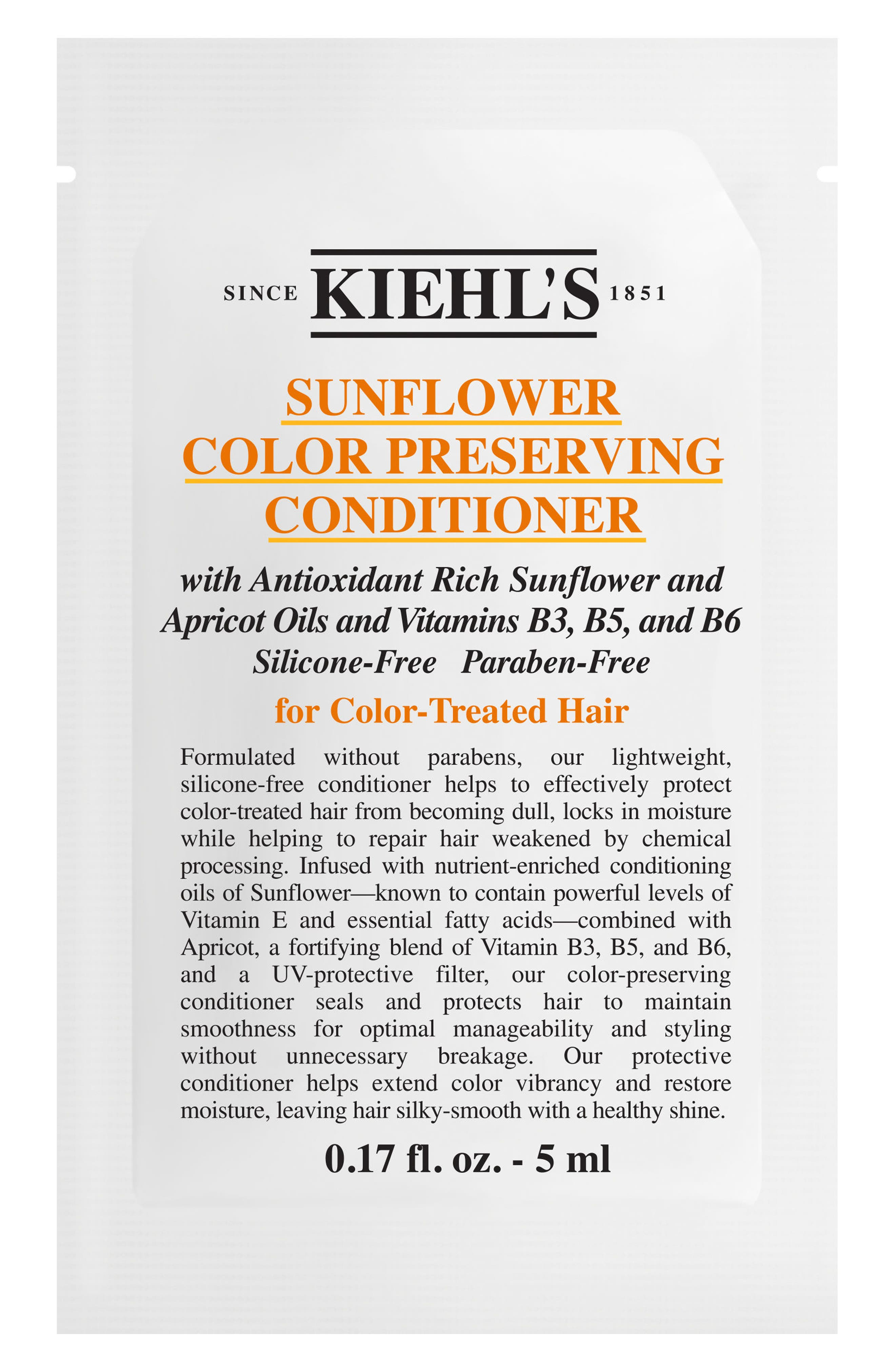Sunflower Color Preserving Conditioner,                             Alternate thumbnail 5, color,                             NO COLOR