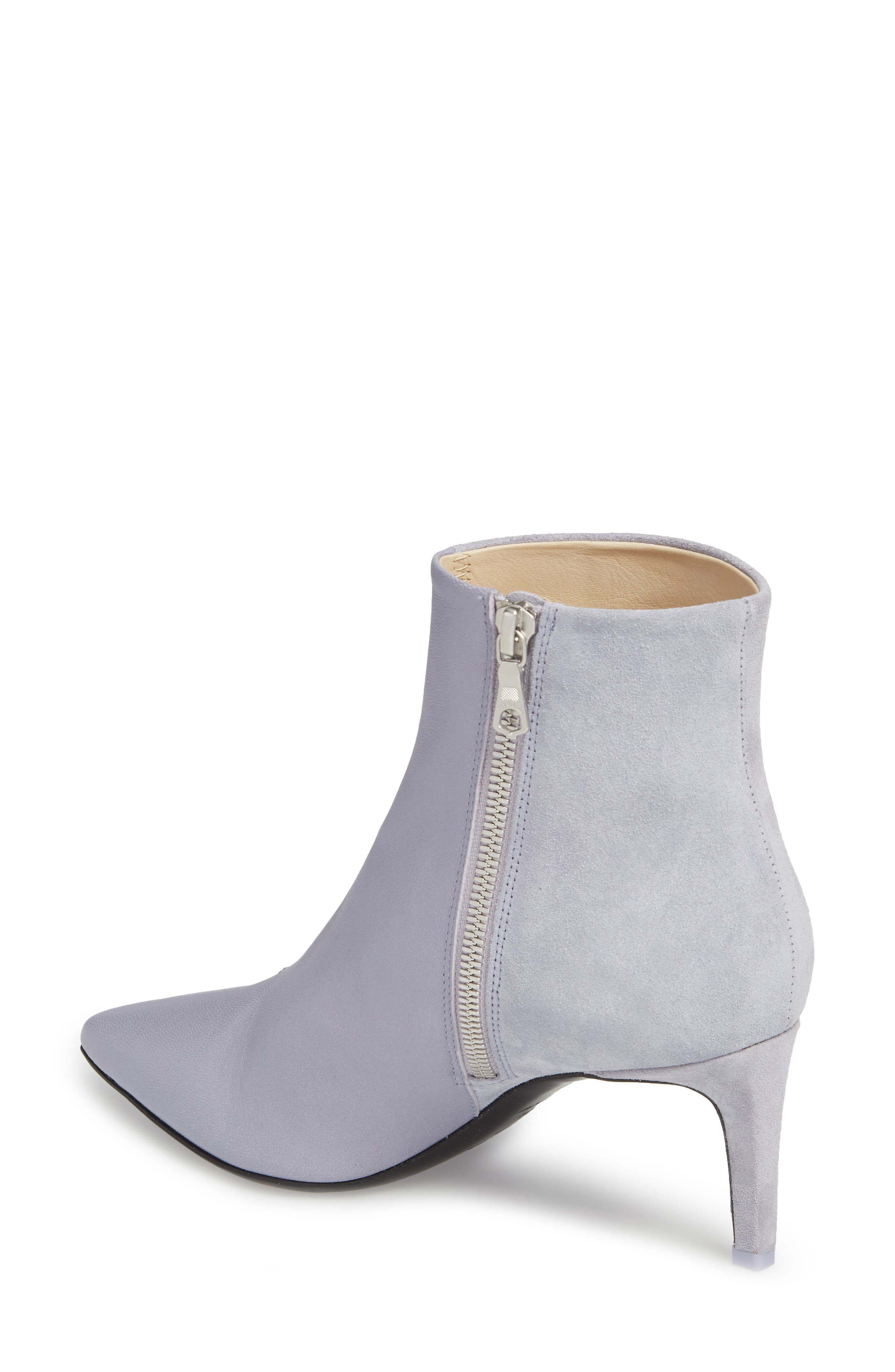 Beha Pointy Toe Bootie,                             Alternate thumbnail 2, color,                             LILAC COMBO