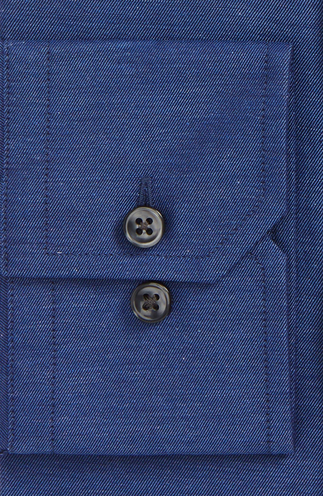 Extra Trim Fit Solid Dress Shirt,                             Alternate thumbnail 2, color,                             414