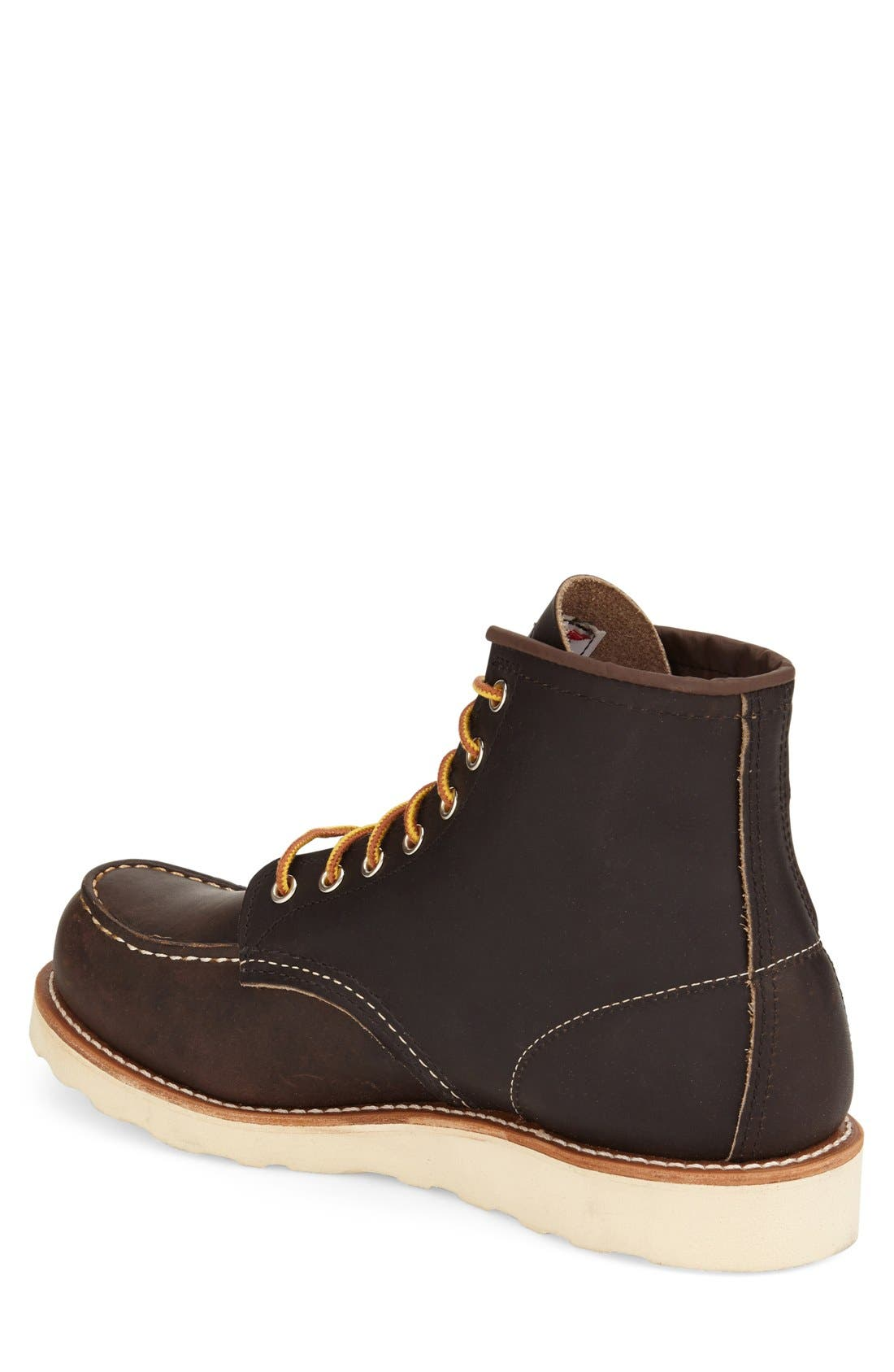 6 Inch Moc Toe Boot,                             Alternate thumbnail 2, color,                             200