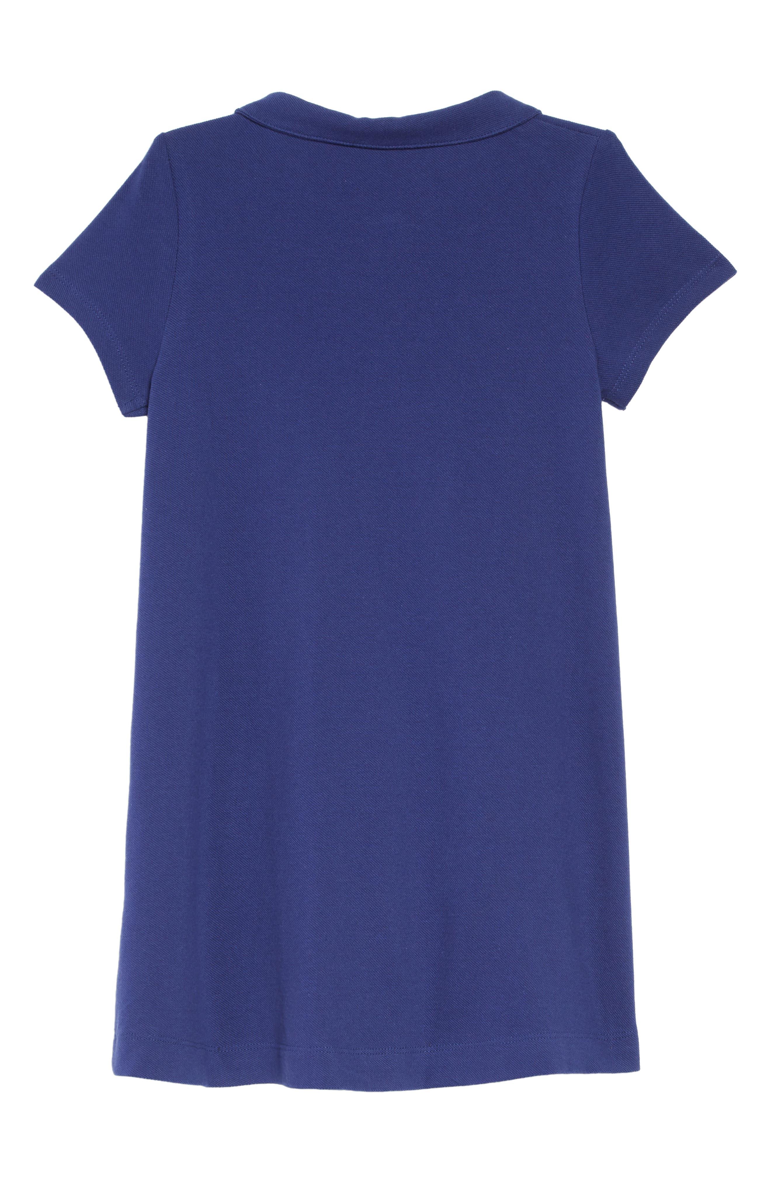 Appliqué Polo Dress,                             Alternate thumbnail 2, color,                             404
