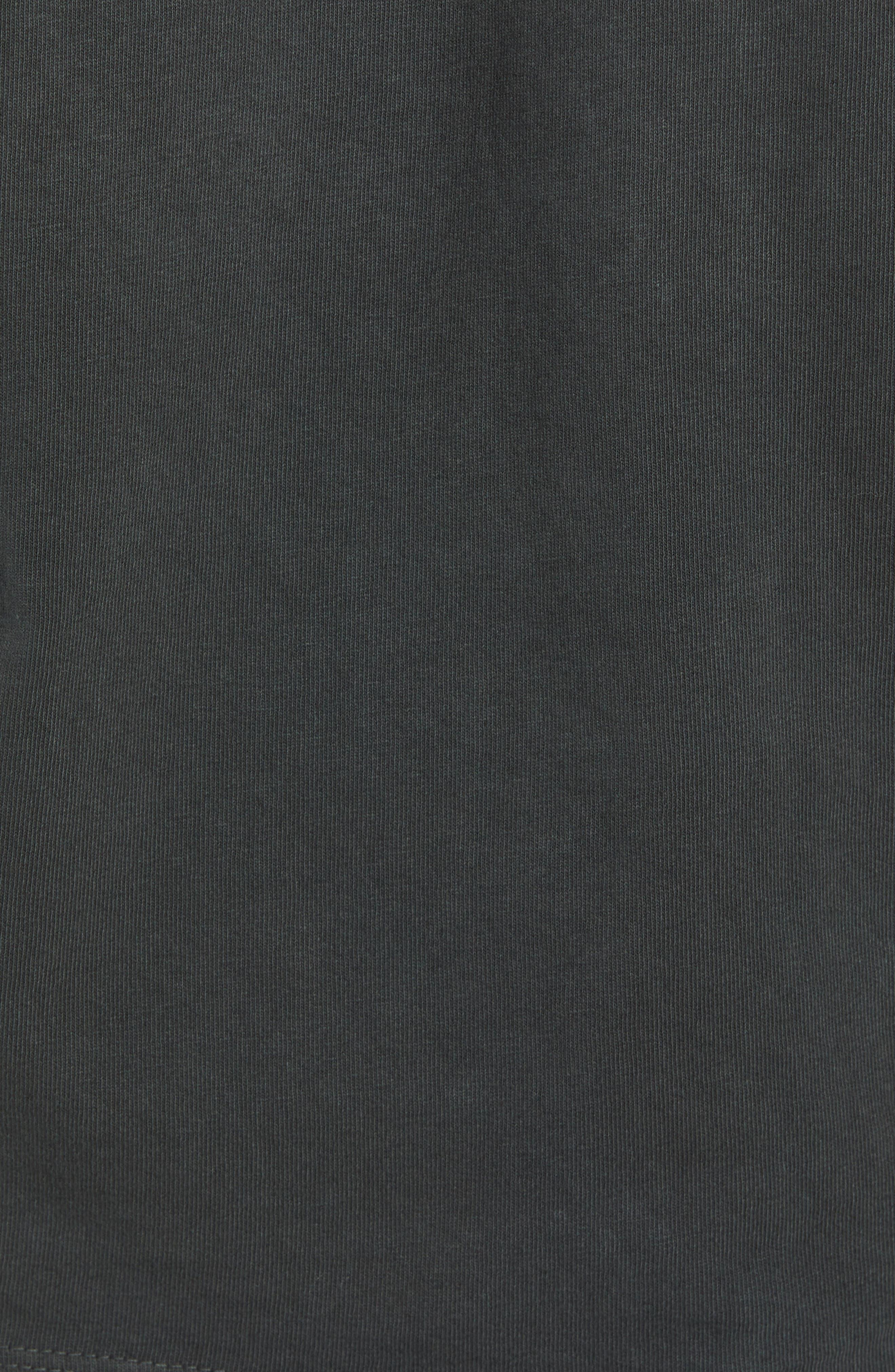Jumble Lo-Fi Pigment T-Shirt,                             Alternate thumbnail 5, color,                             DUSTY BLACK