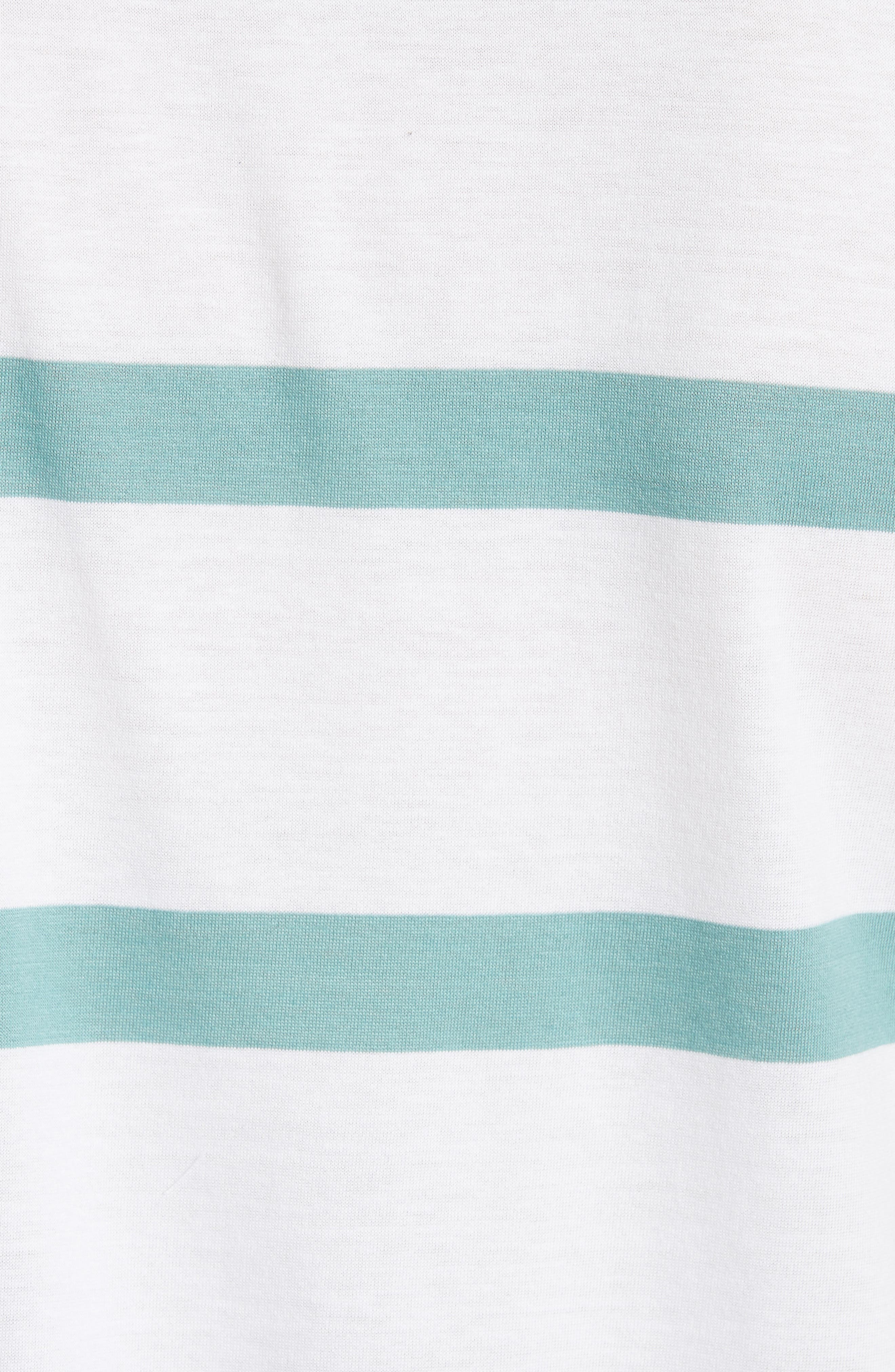 Neils Industrial Stripe T-Shirt,                             Alternate thumbnail 5, color,                             100