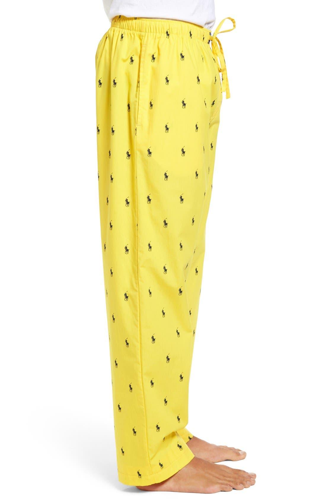 Cotton Lounge Pants,                             Alternate thumbnail 41, color,