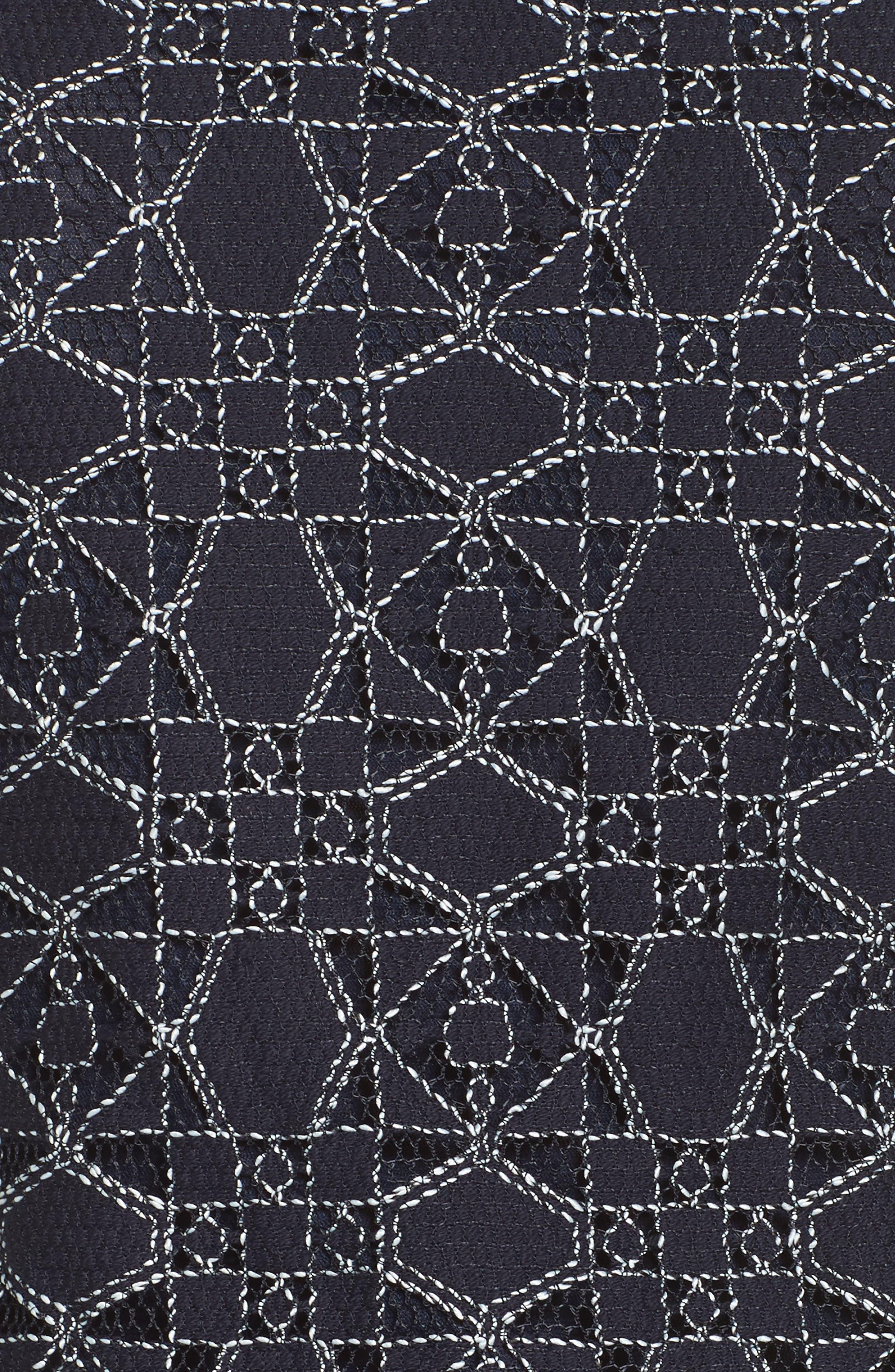 One-Shoulder Lace Romper,                             Alternate thumbnail 5, color,                             410