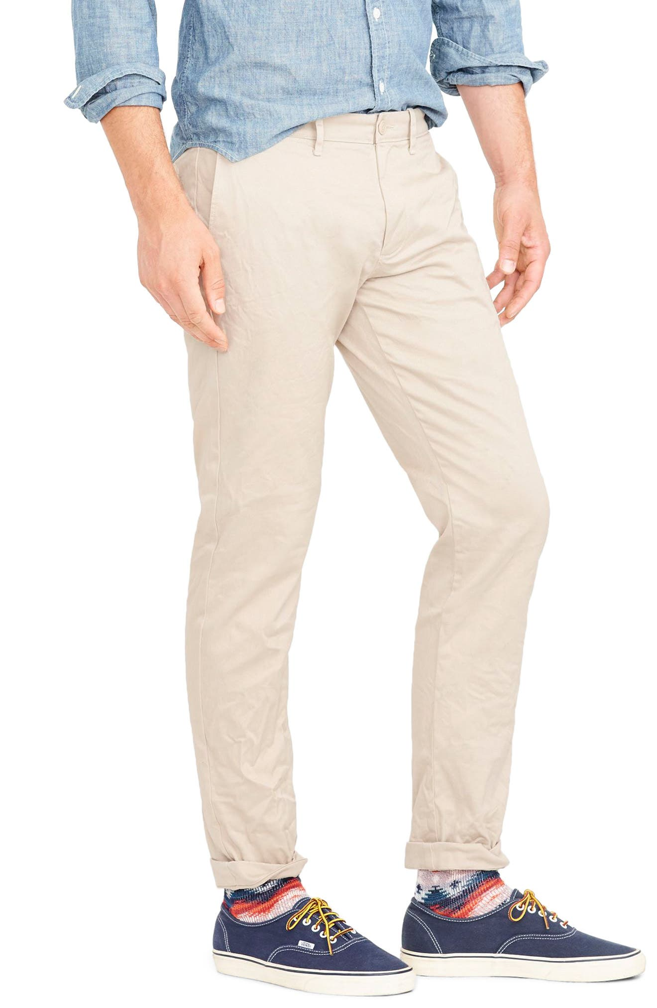 484 Slim Fit Stretch Chino Pants,                             Alternate thumbnail 26, color,