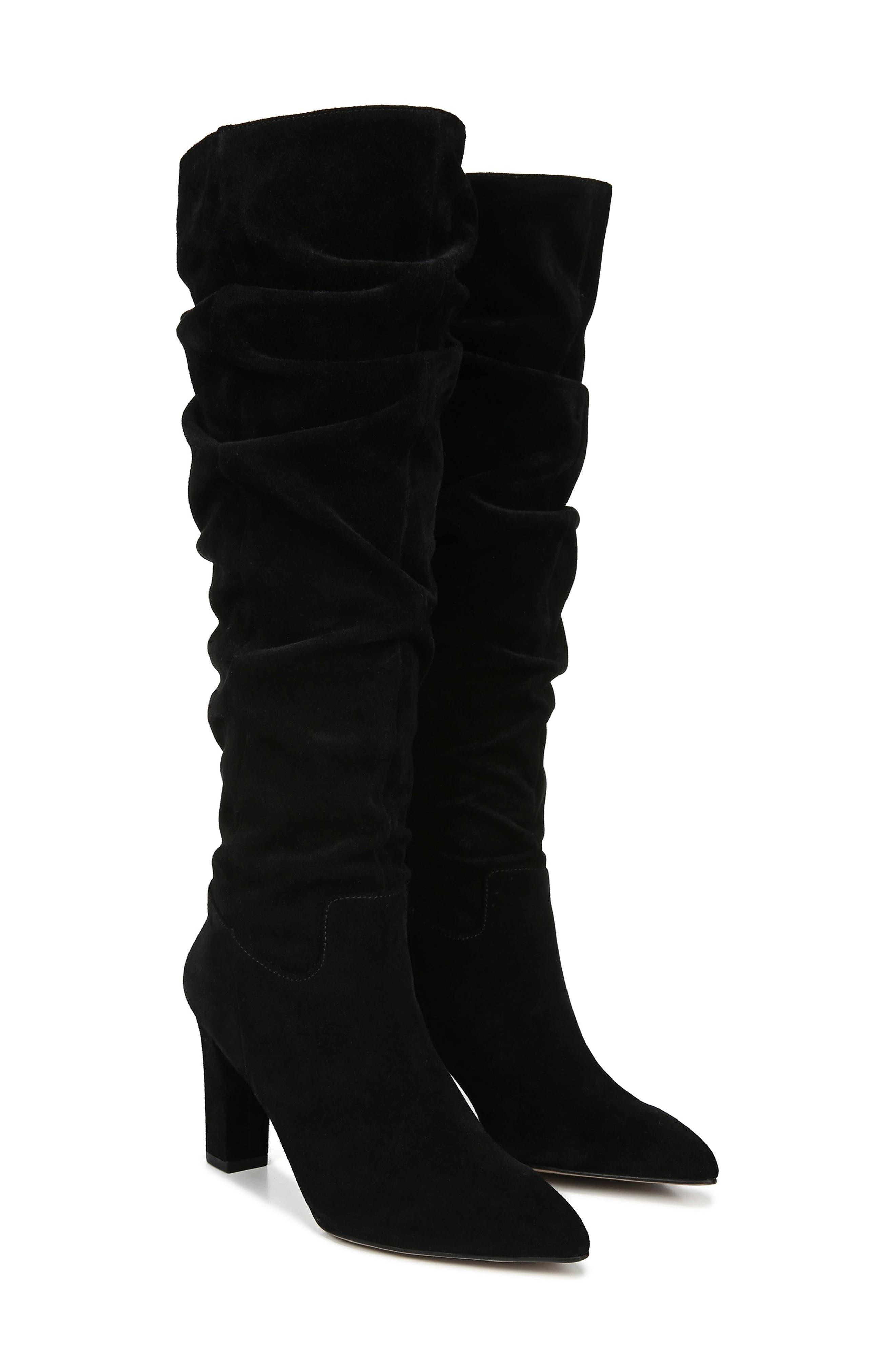 Artesia Knee High Boot,                             Alternate thumbnail 8, color,                             BLACK SUEDE