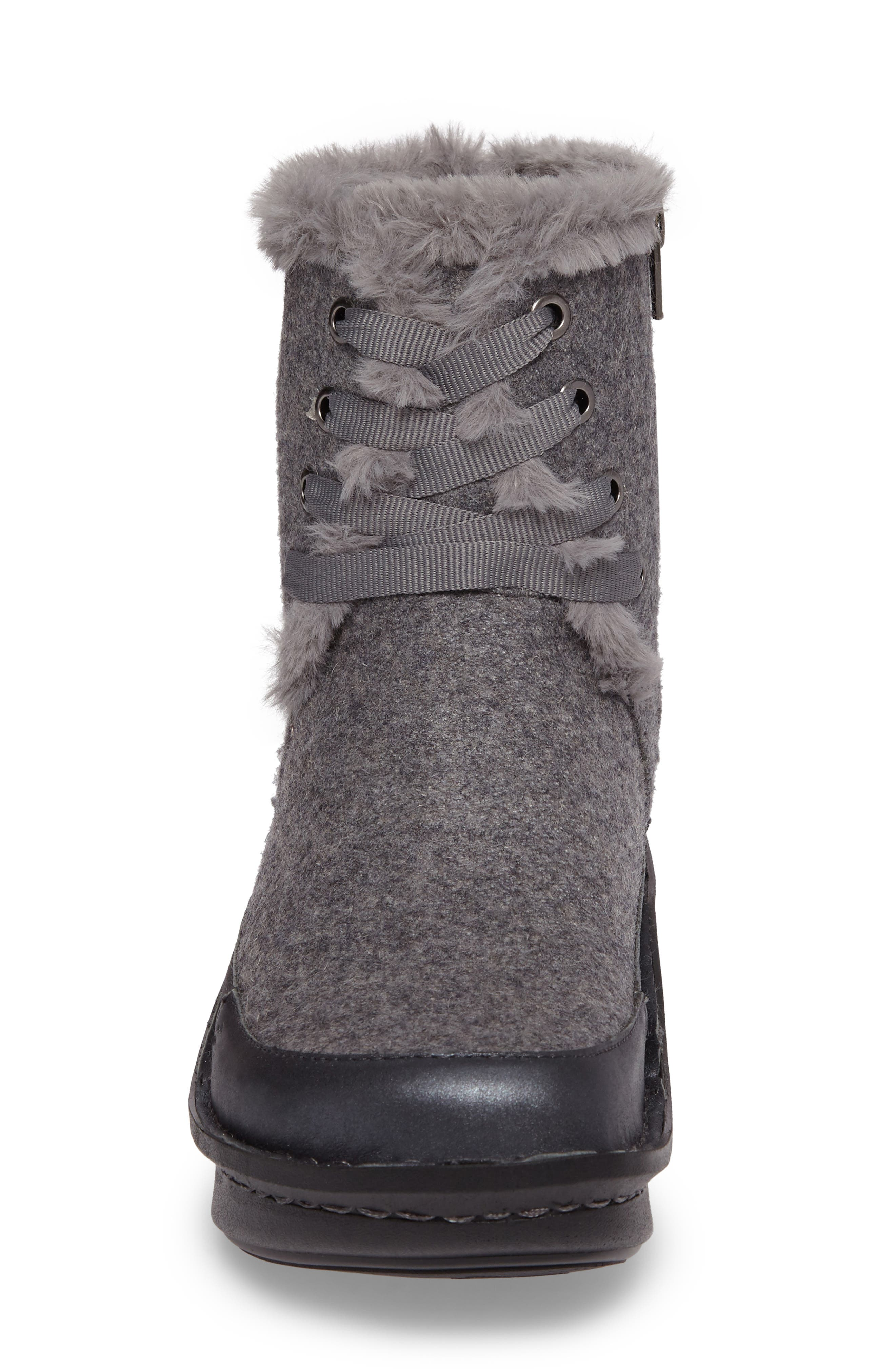 Twisp Lace-Up Boot with Faux Fur Lining,                             Alternate thumbnail 10, color,