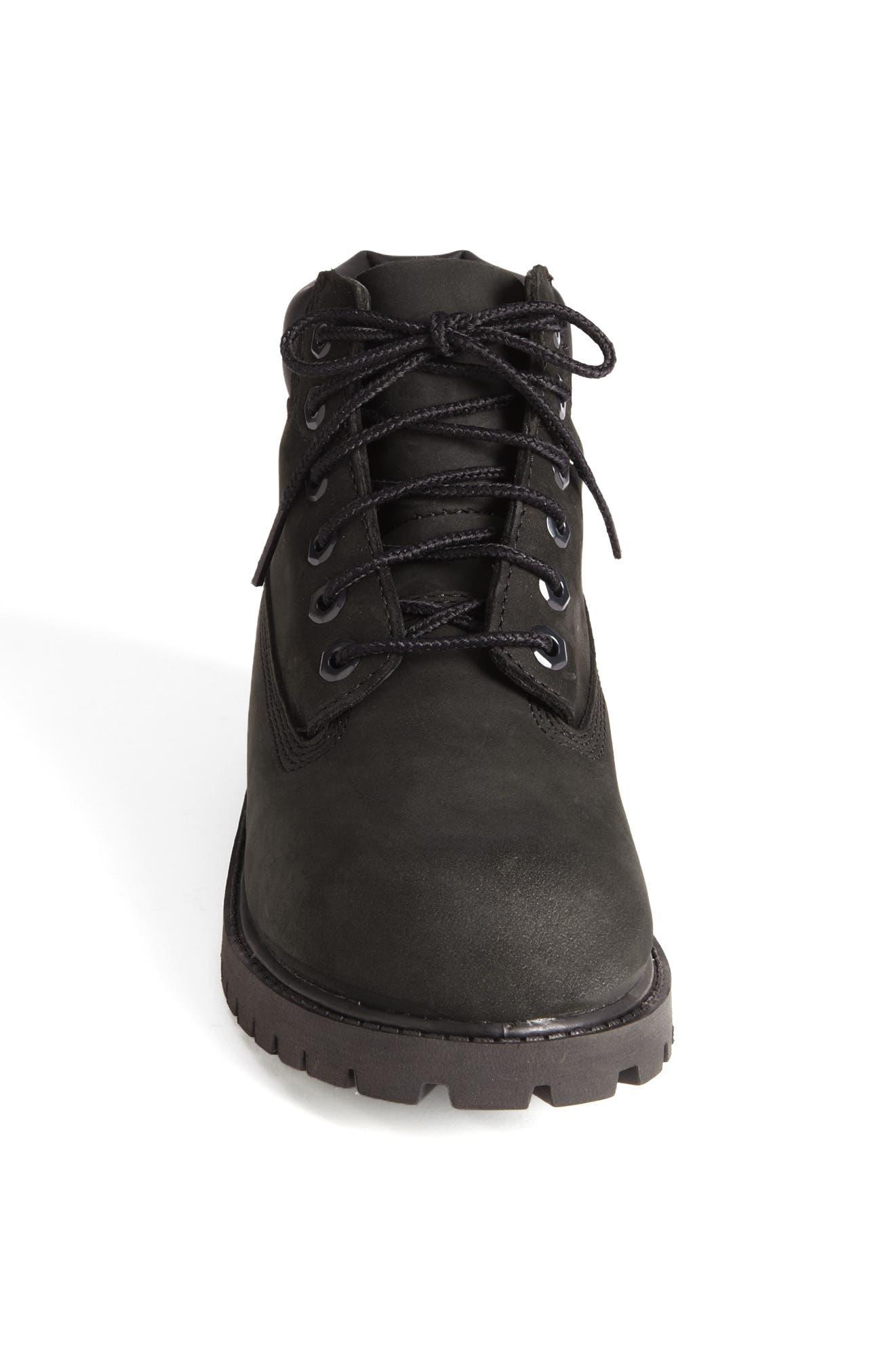'6 Inch Premium' Waterproof Boot,                             Alternate thumbnail 4, color,                             001