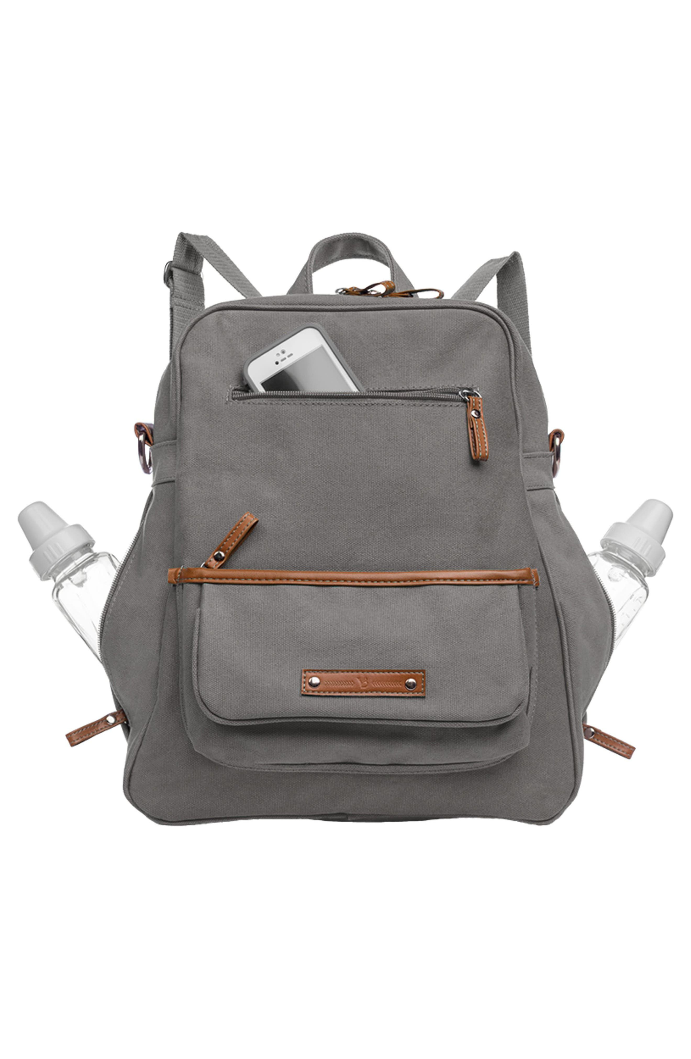 Monroe-On-the-Go Diaper Backpack,                             Alternate thumbnail 6, color,                             WINDY CITY