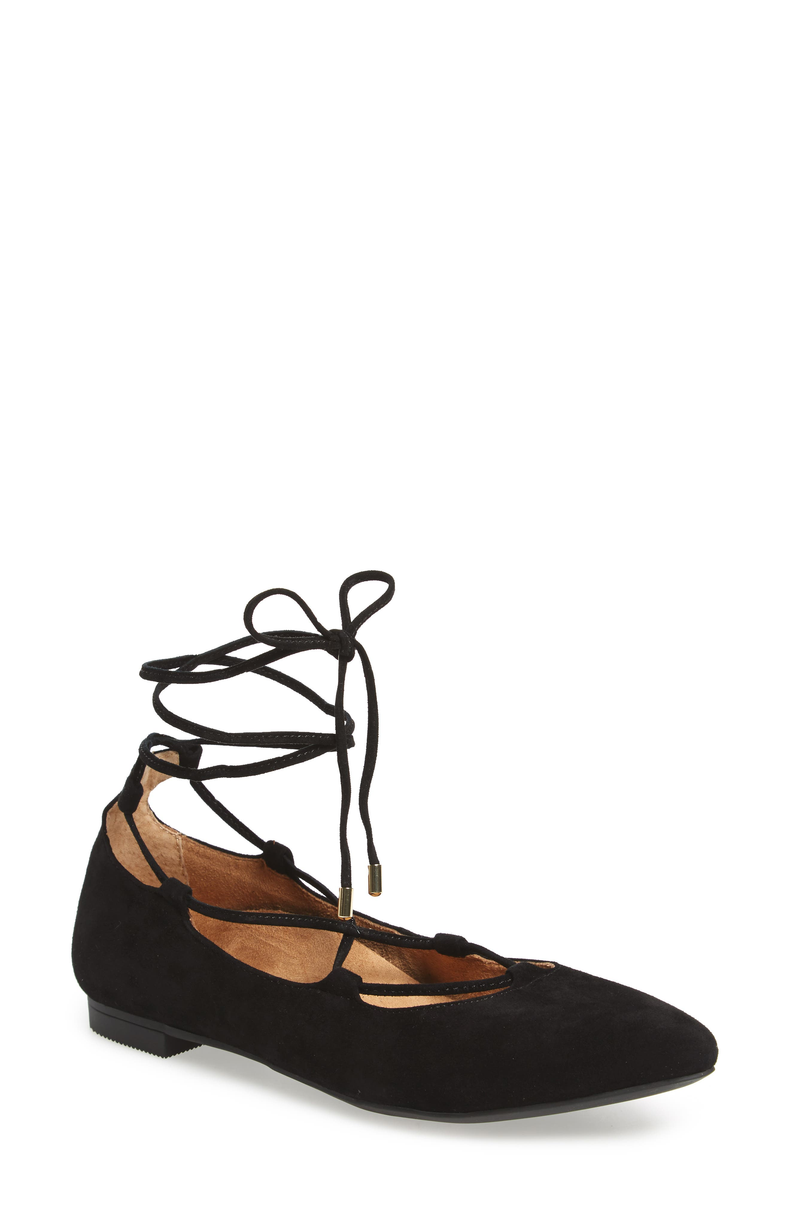 Lucinda Ghillie Lace Flat,                         Main,                         color, 001