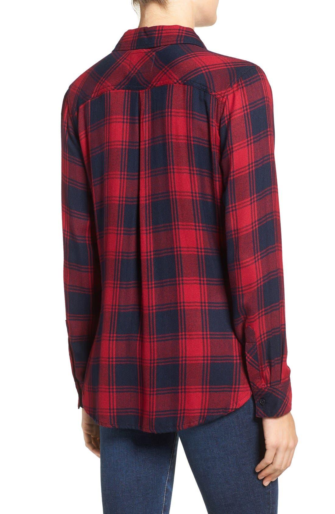 Hunter Plaid Shirt,                             Alternate thumbnail 399, color,