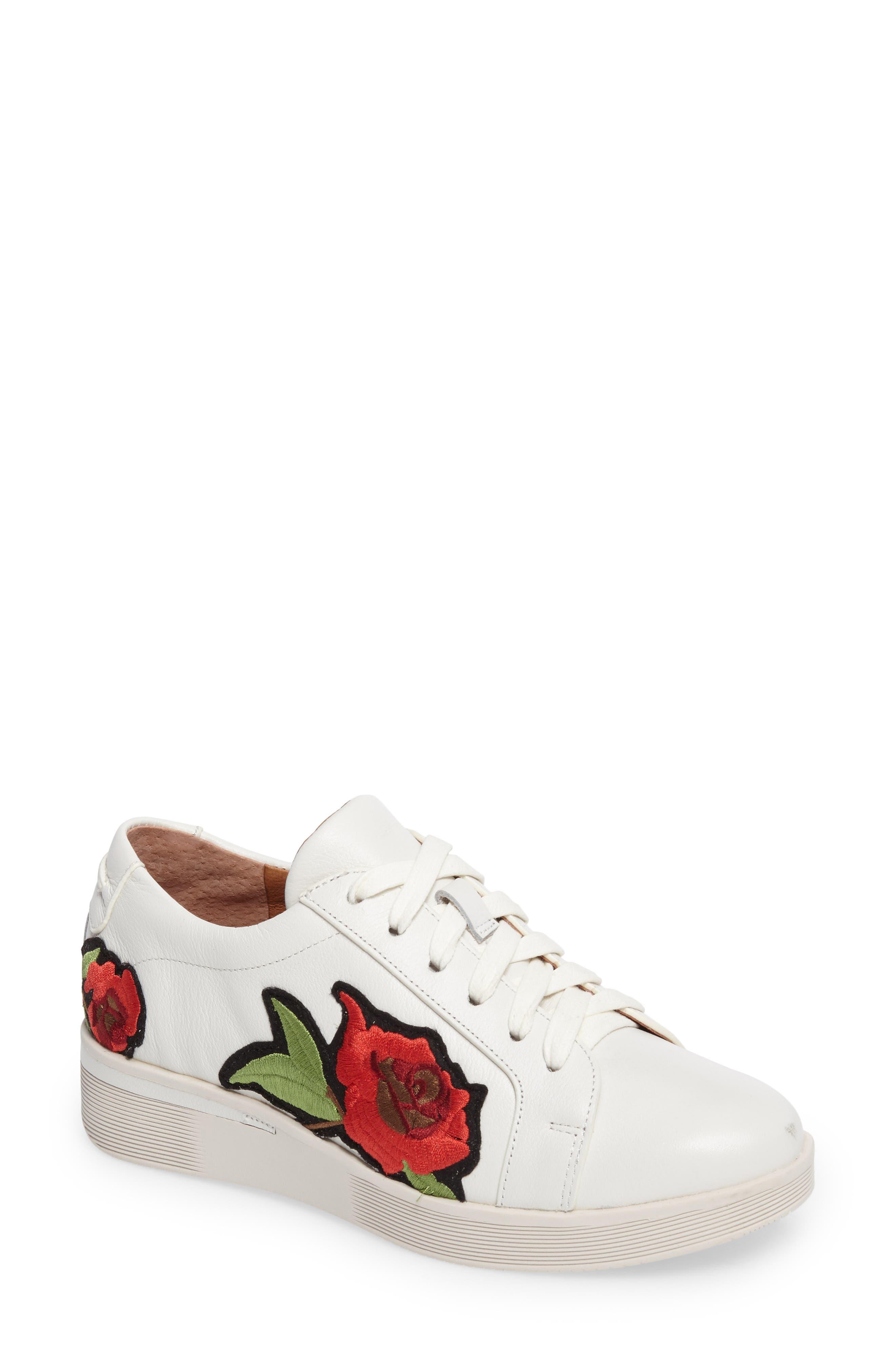 Gentle Soles Haddie Rose Sneaker,                         Main,                         color, 110