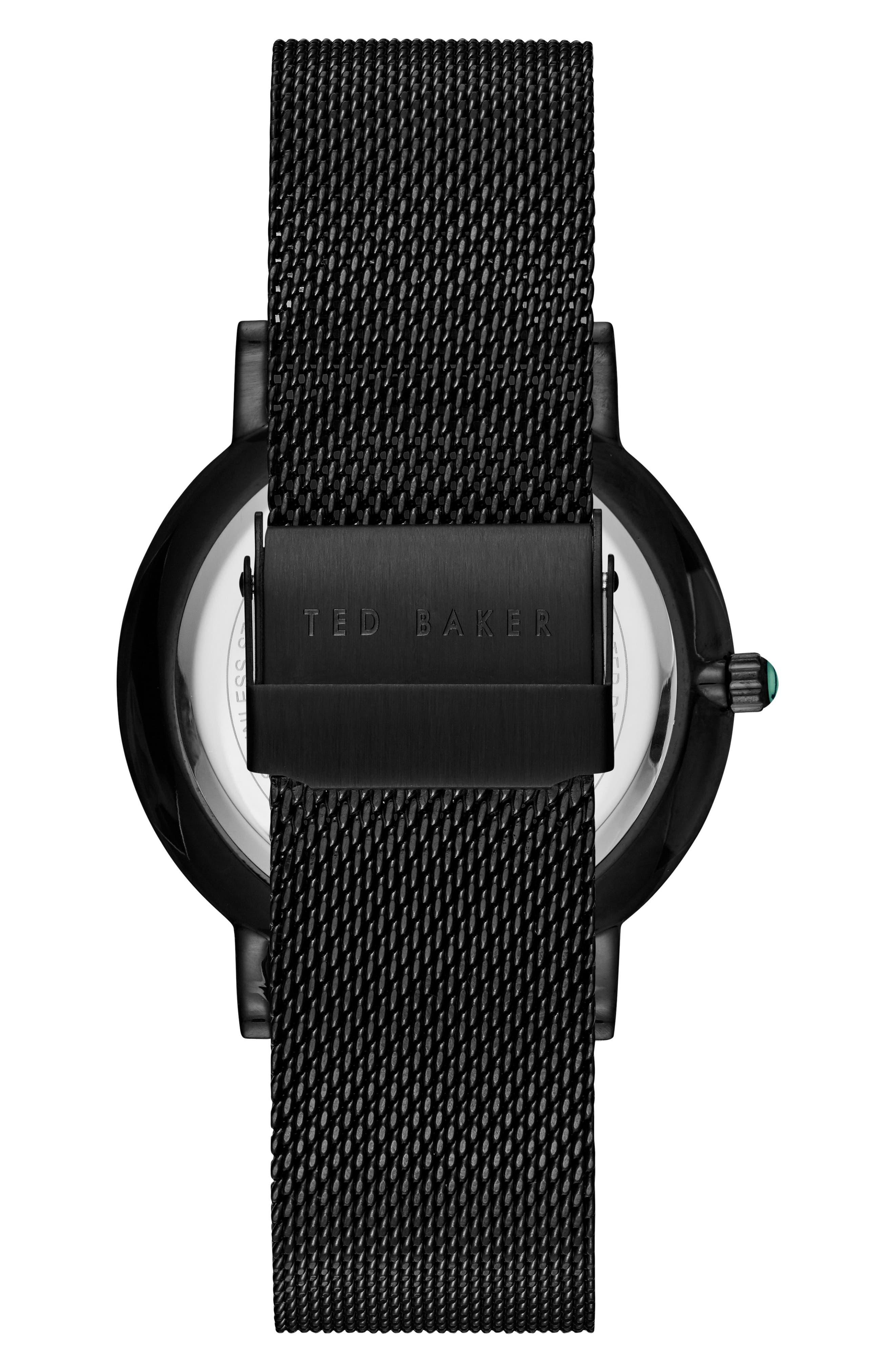 Grant Mesh Bracelet Watch, 40mm,                             Alternate thumbnail 2, color,                             001