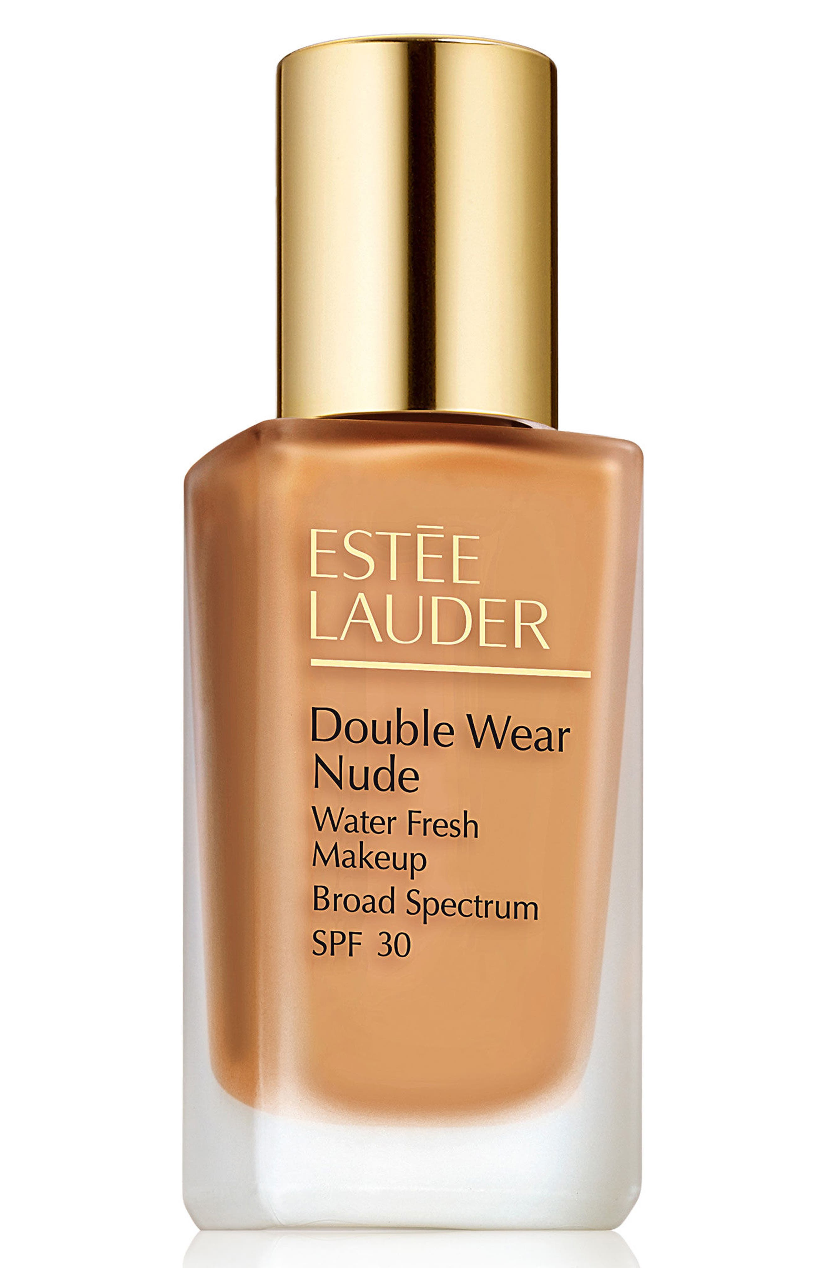 Estee Lauder Double Wear Nude Water Fresh Makeup Broad Spectrum Spf 30 - 1 Honey Bronze
