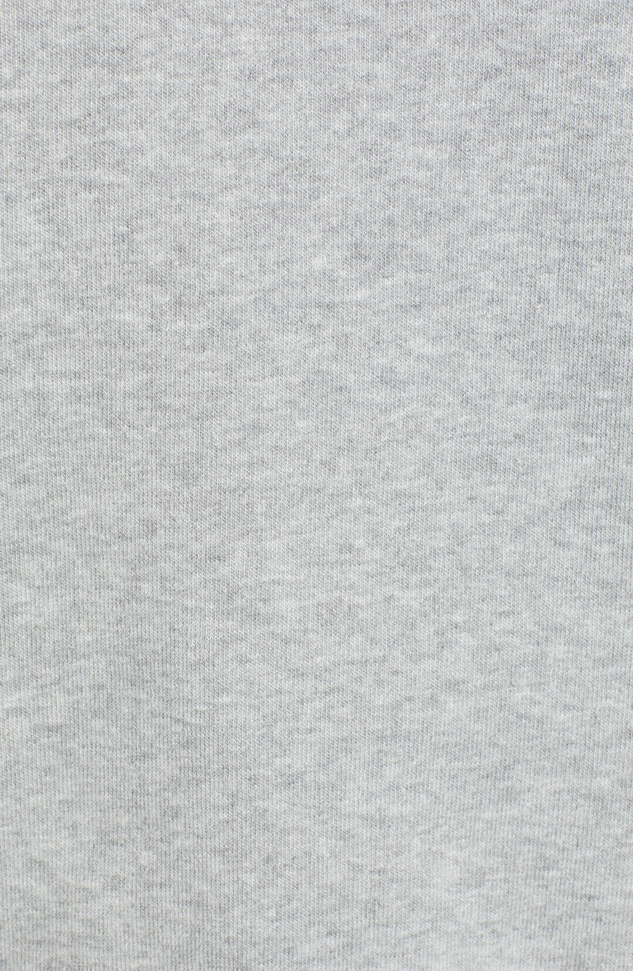 Naughty/Nice Reversible Sweatshirt,                             Alternate thumbnail 6, color,                             HEATHER GREY