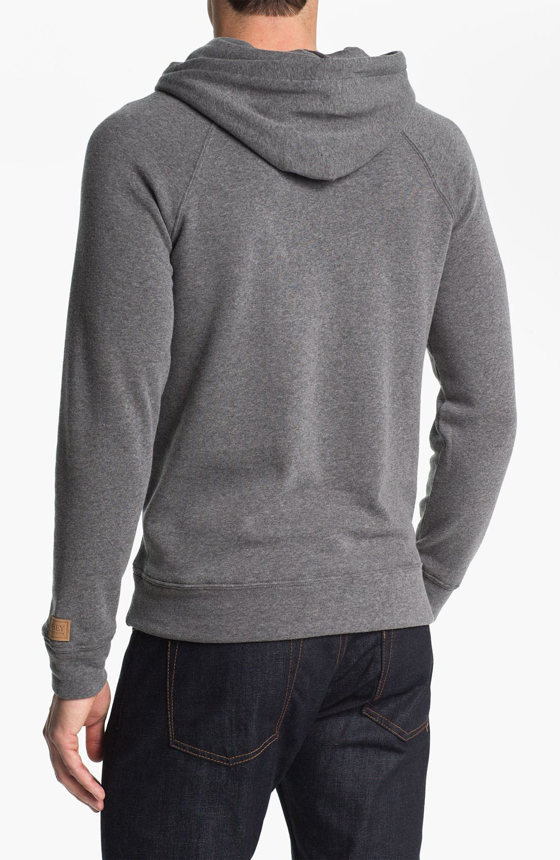 'Lofty Creature Comforts' Hooded Sweatshirt,                             Alternate thumbnail 2, color,                             060