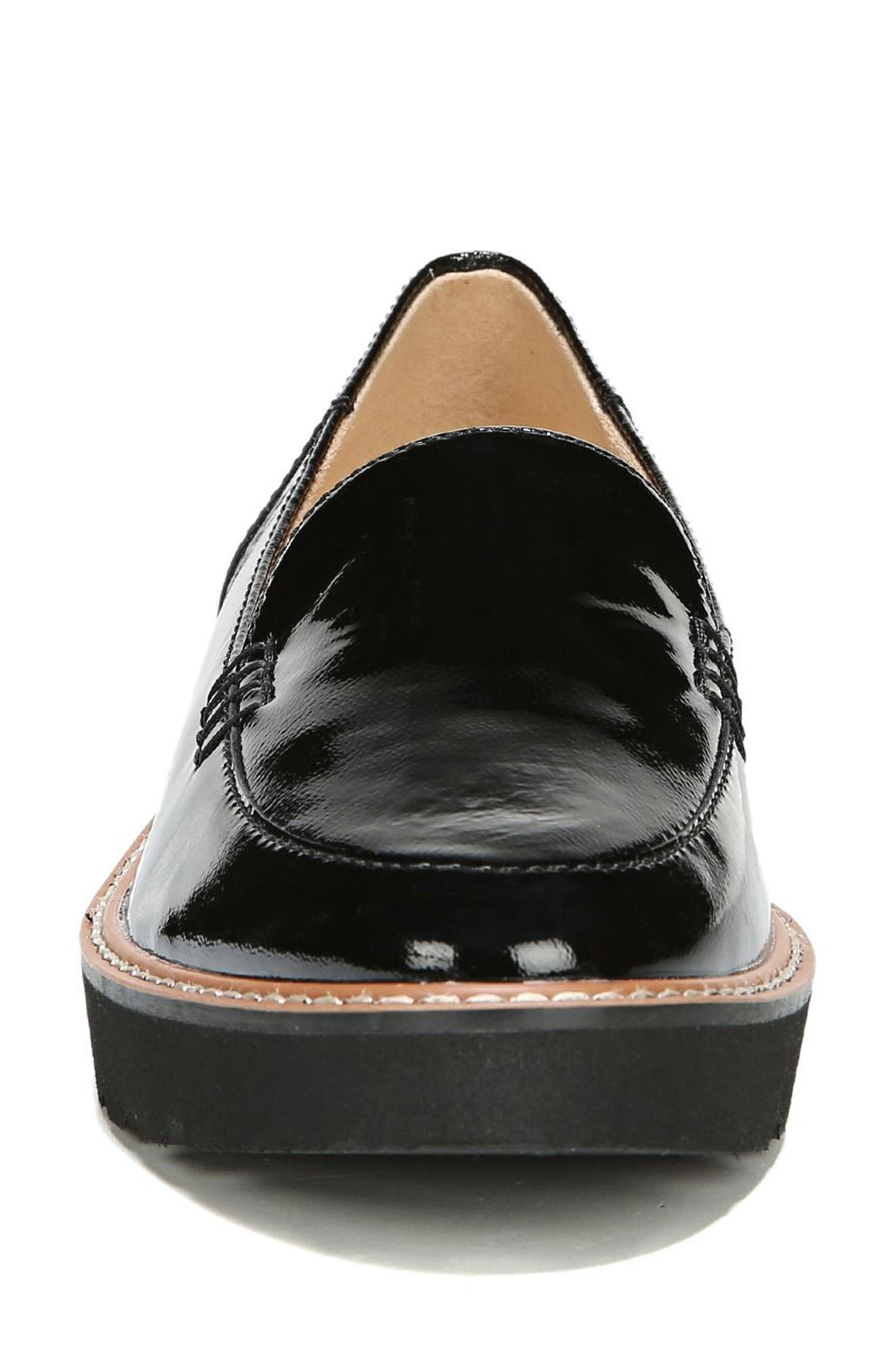 Andie Loafer,                             Alternate thumbnail 4, color,                             BLACK PATENT