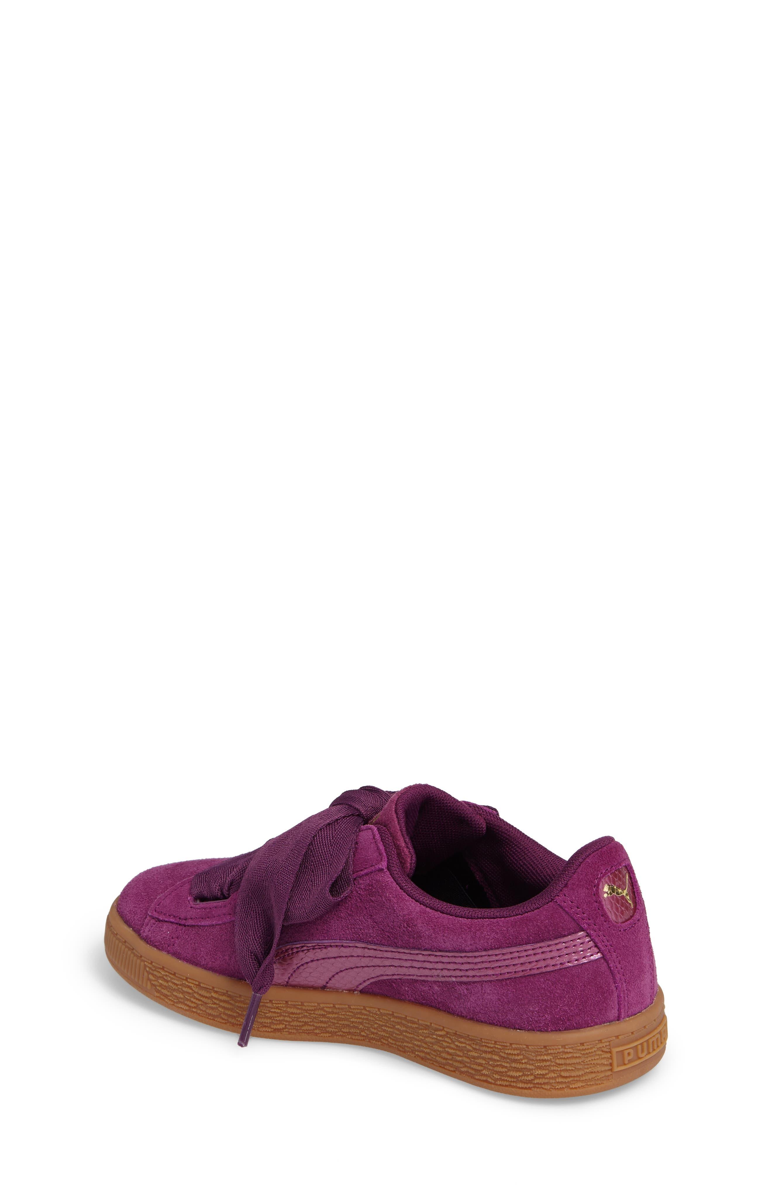 Basket Heart Sneaker,                             Alternate thumbnail 5, color,