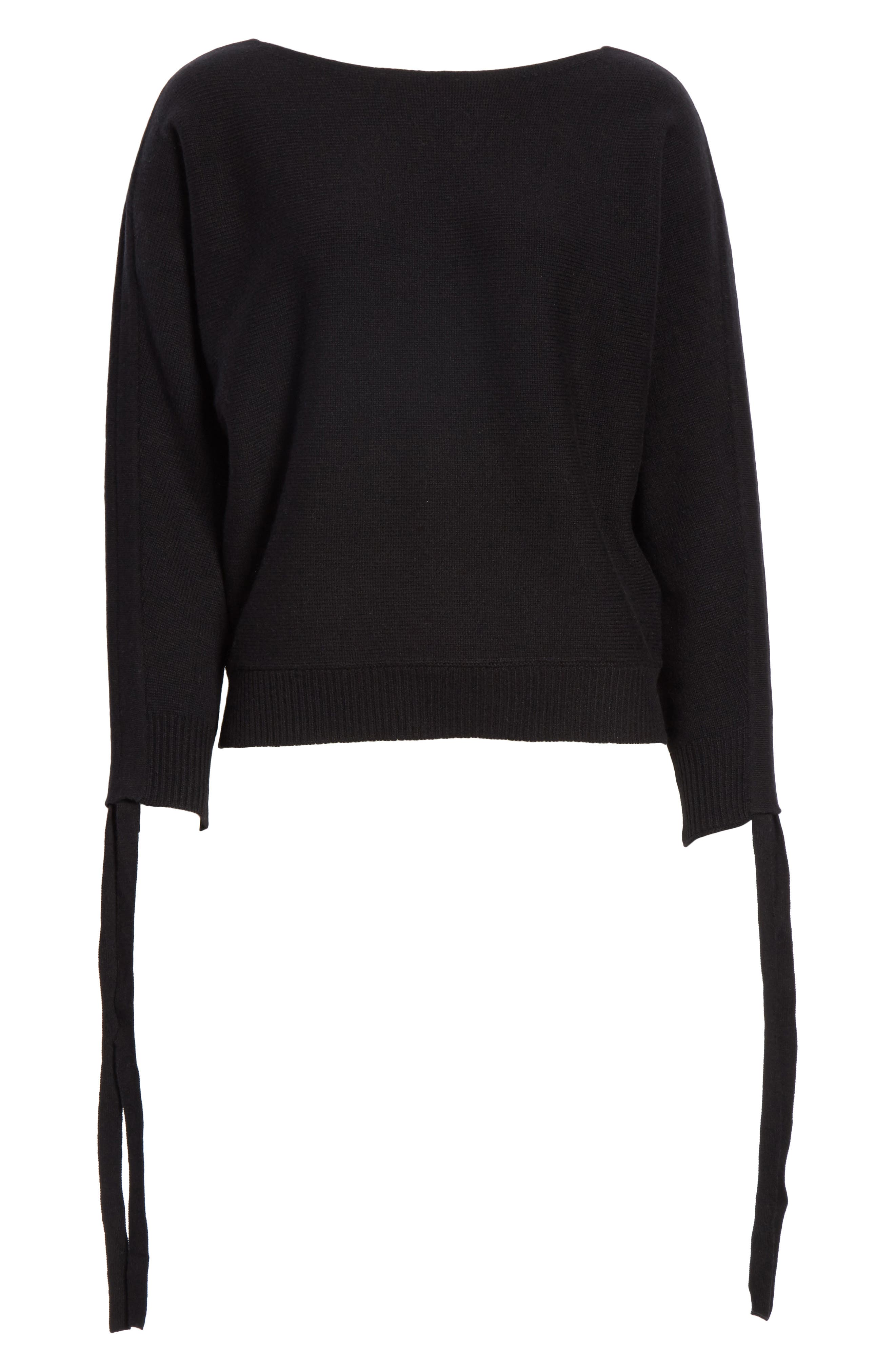 Dannee Wool & Cashmere Sweater,                             Alternate thumbnail 6, color,                             002