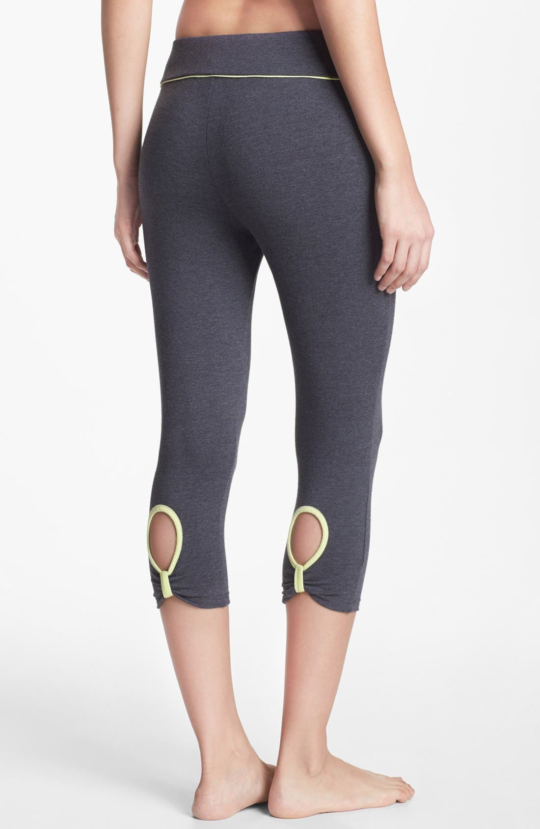 Crop Keyhole Leggings, Main, color, 025