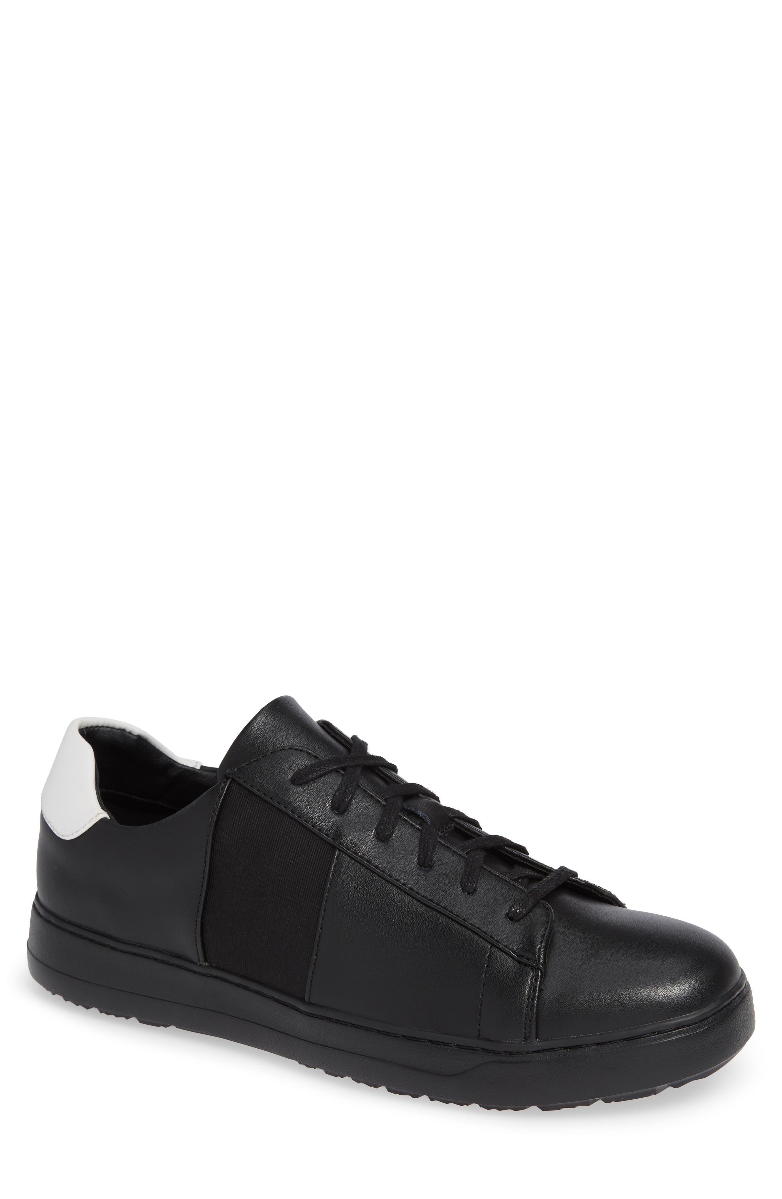 Sammy 2 Sneaker,                         Main,                         color, BLACK LEATHER