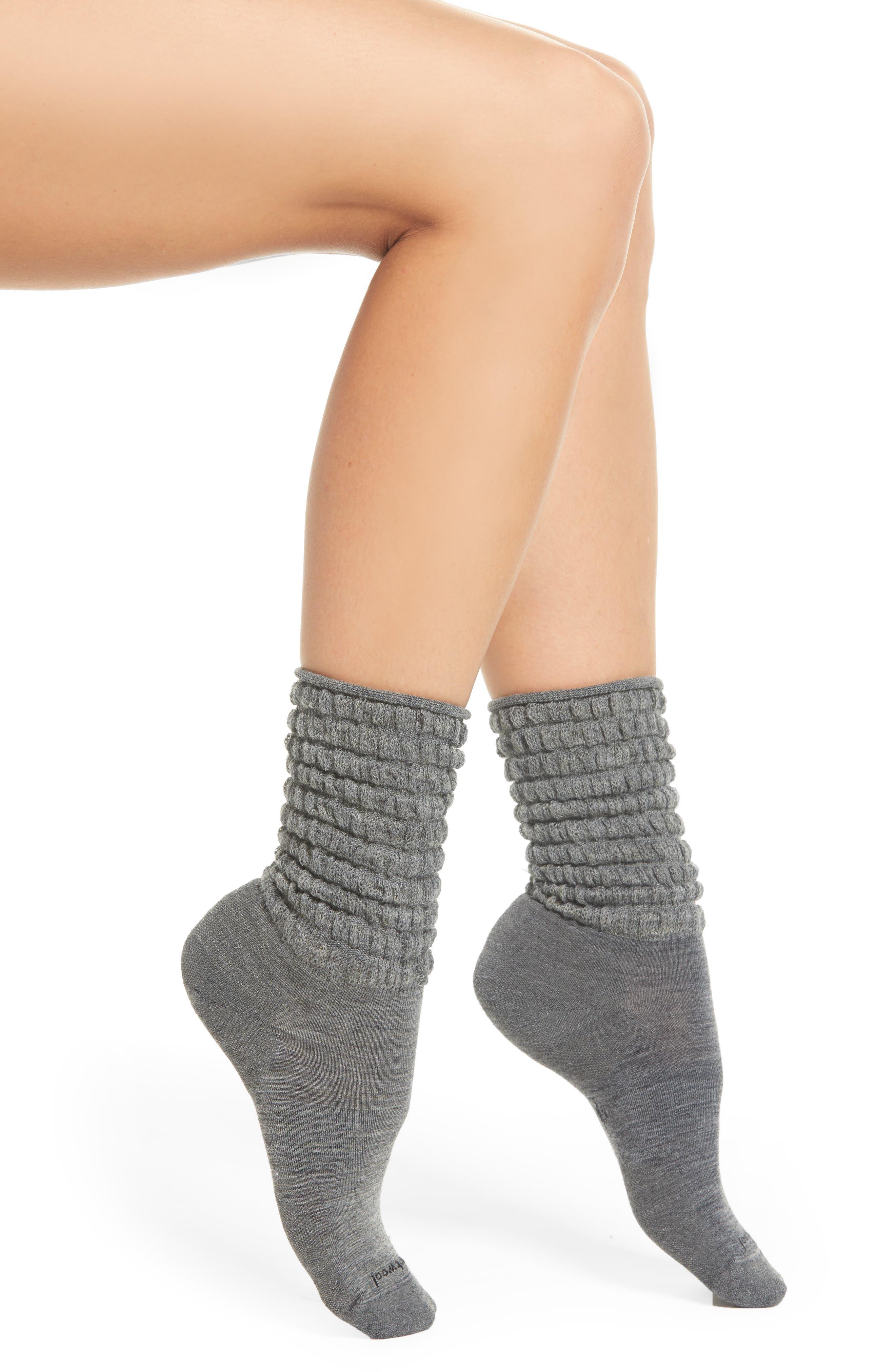 Slouch Crew Socks,                         Main,                         color, 030