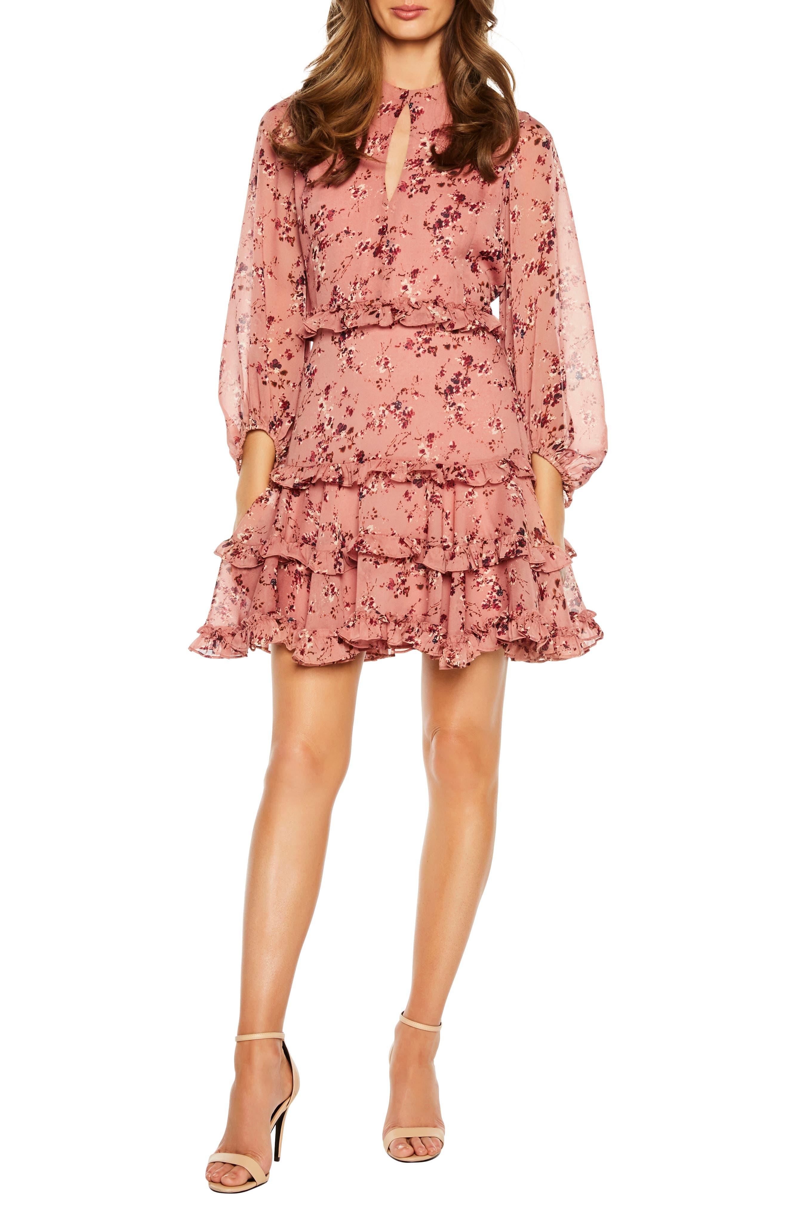 Frill Dress, Main, color, 950