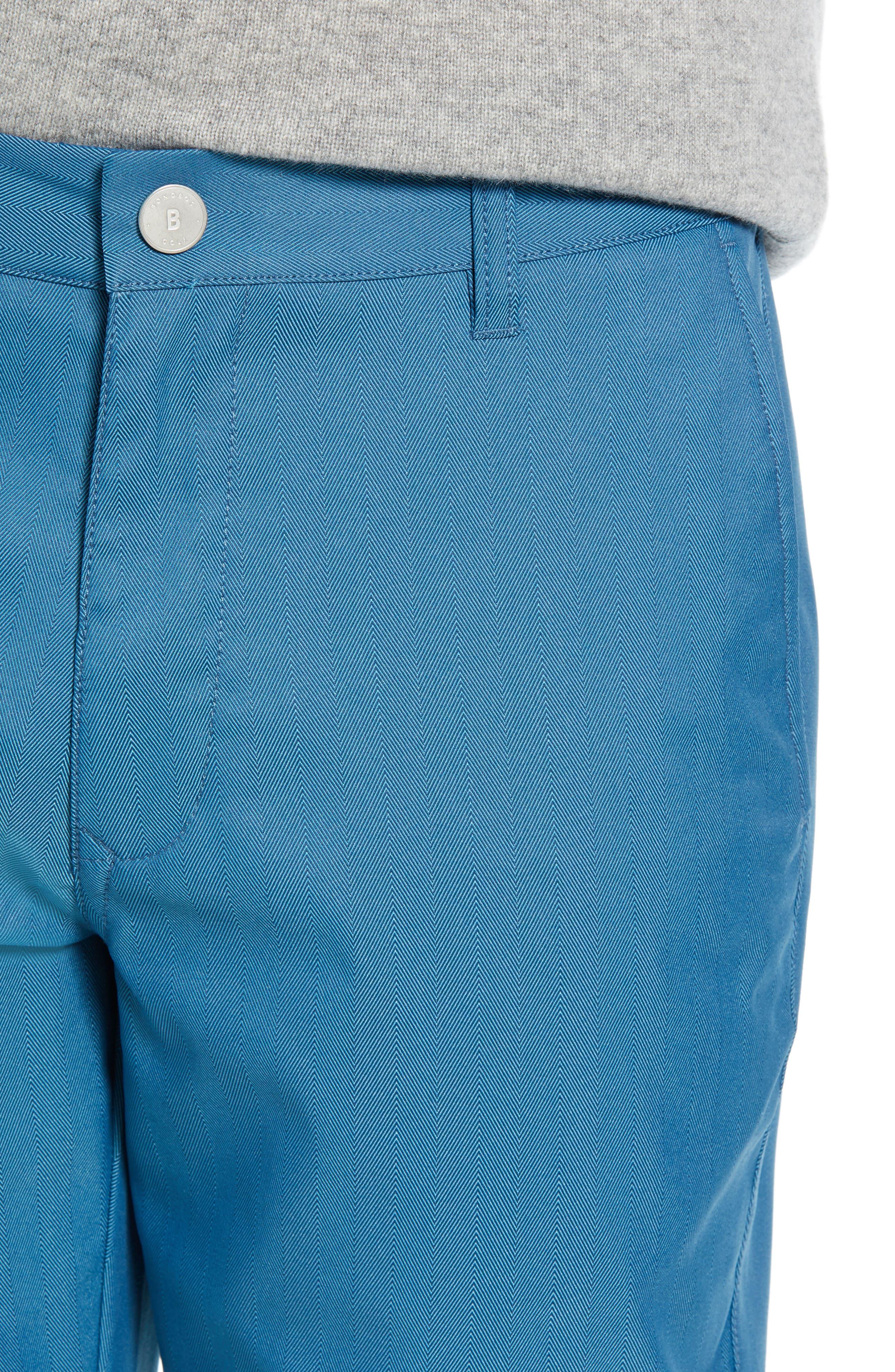 Highland Slim Fit Golf Pants,                             Alternate thumbnail 4, color,                             400